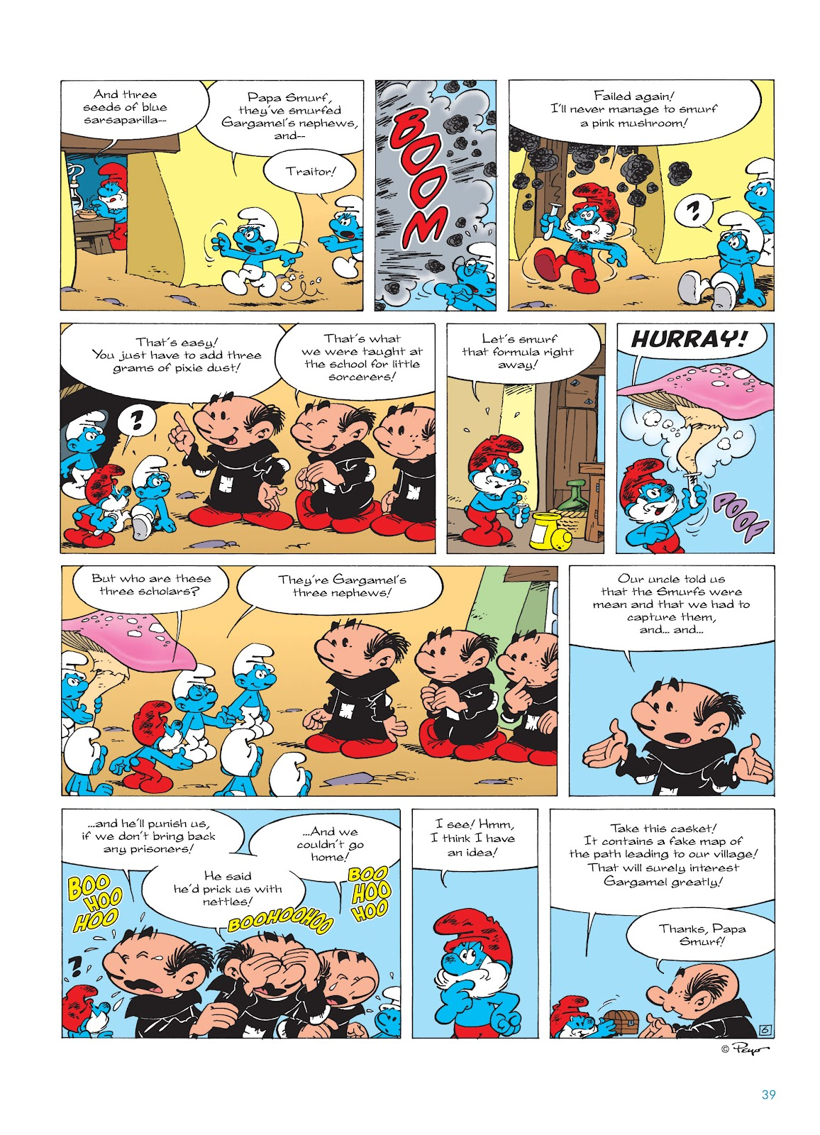 Read online The Smurfs comic -  Issue #17 - 39