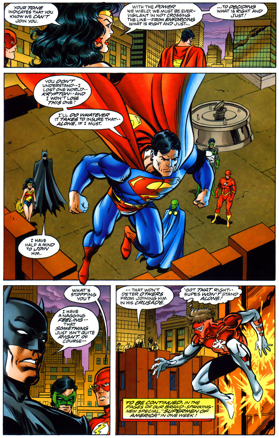 Read online Adventures of Superman (1987) comic -  Issue #565 - 23