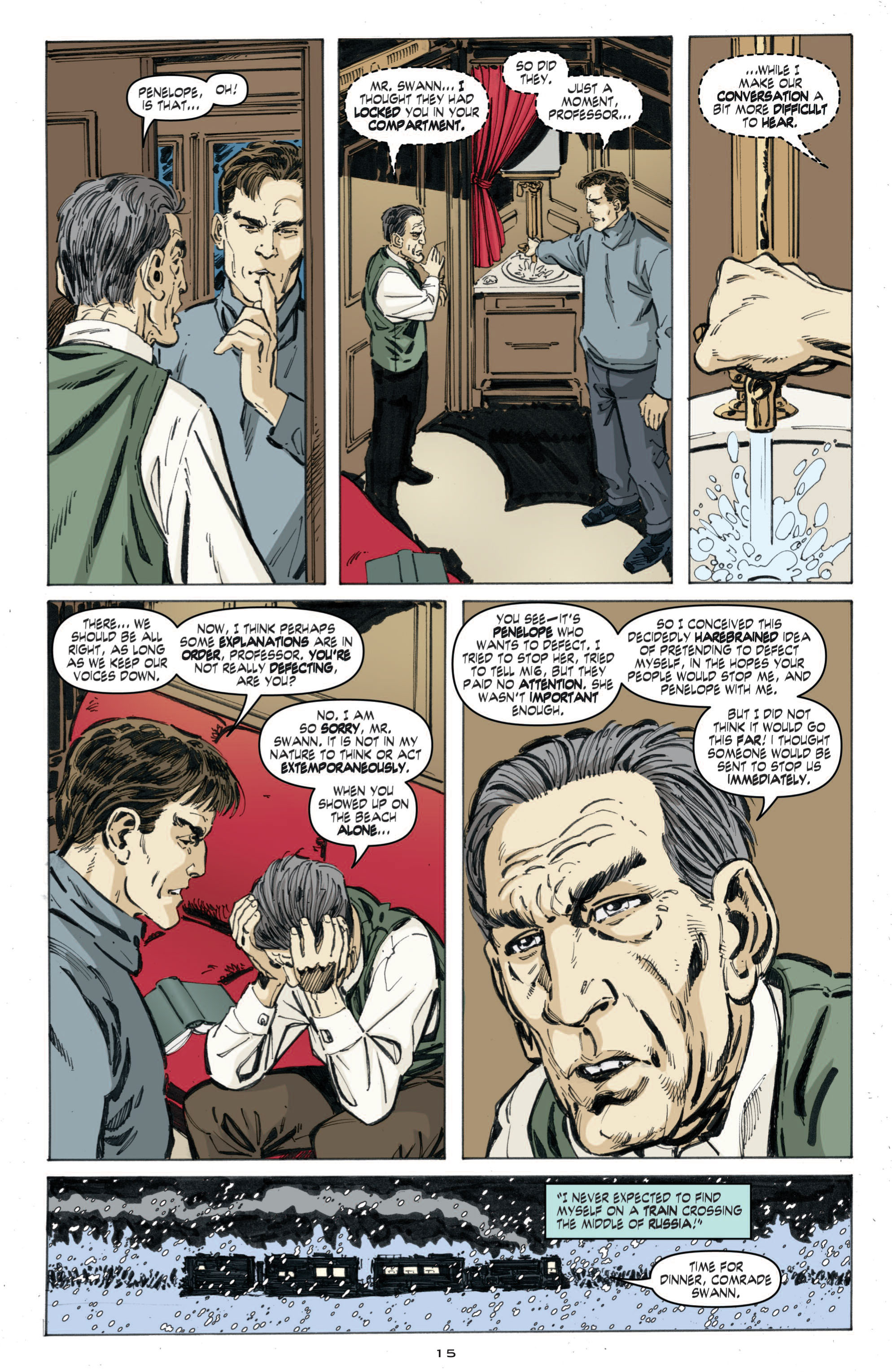 Read online Cold War comic -  Issue # TPB - 73