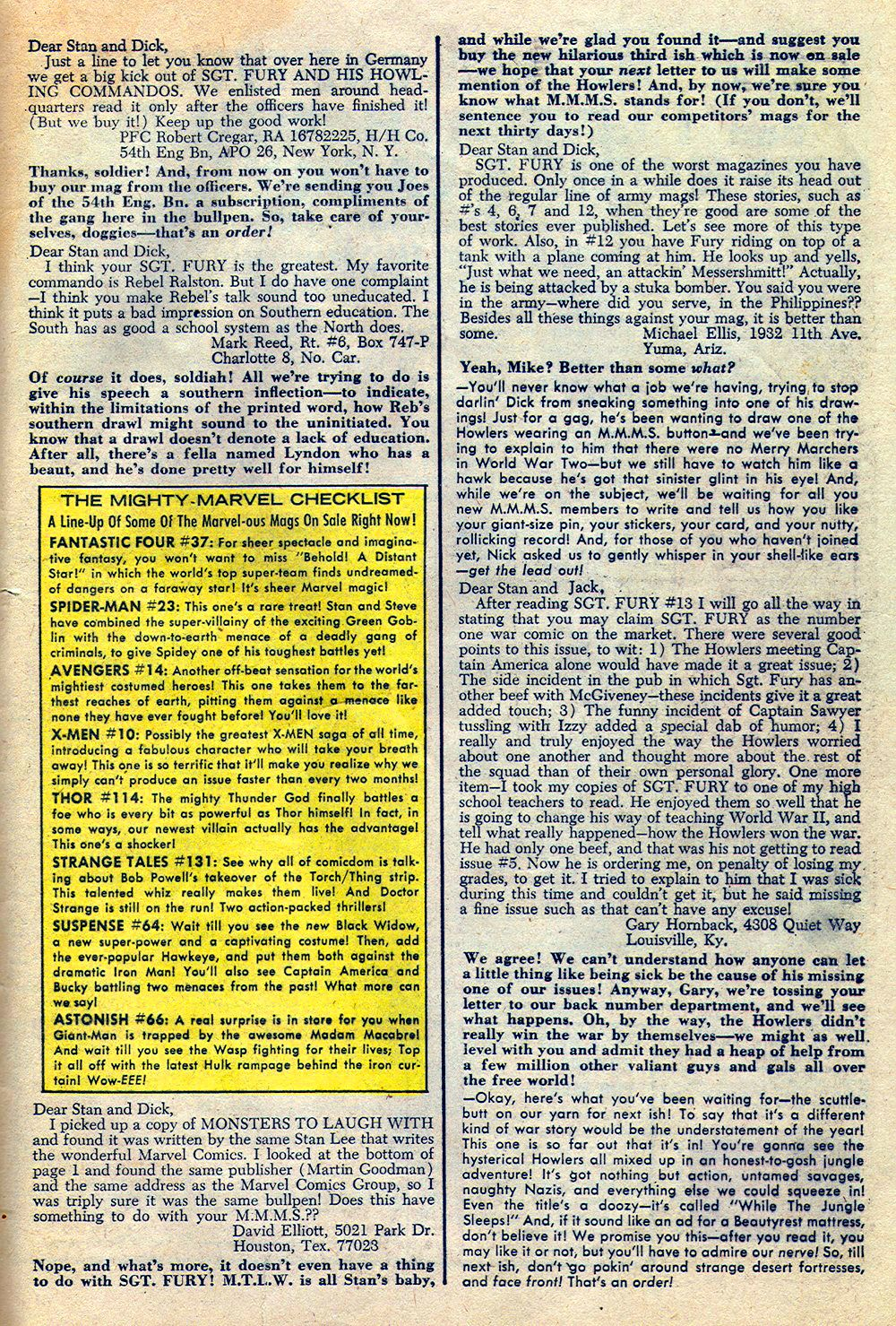 Read online Sgt. Fury comic -  Issue #16 - 33
