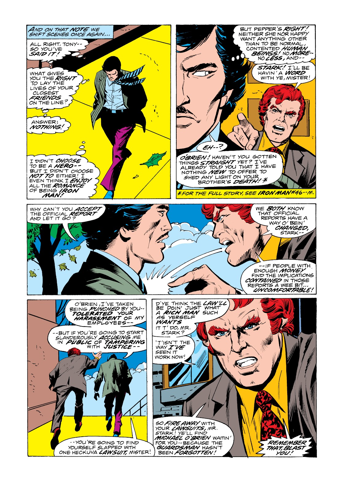 Read online Marvel Masterworks: The Invincible Iron Man comic -  Issue # TPB 11 (Part 1) - 92
