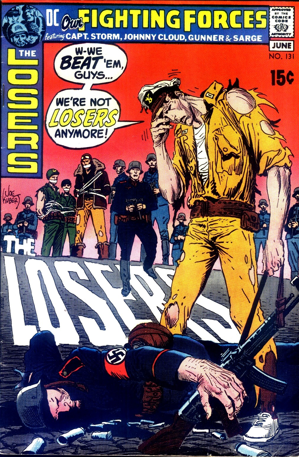 Our Fighting Forces (1954) issue 131 - Page 1