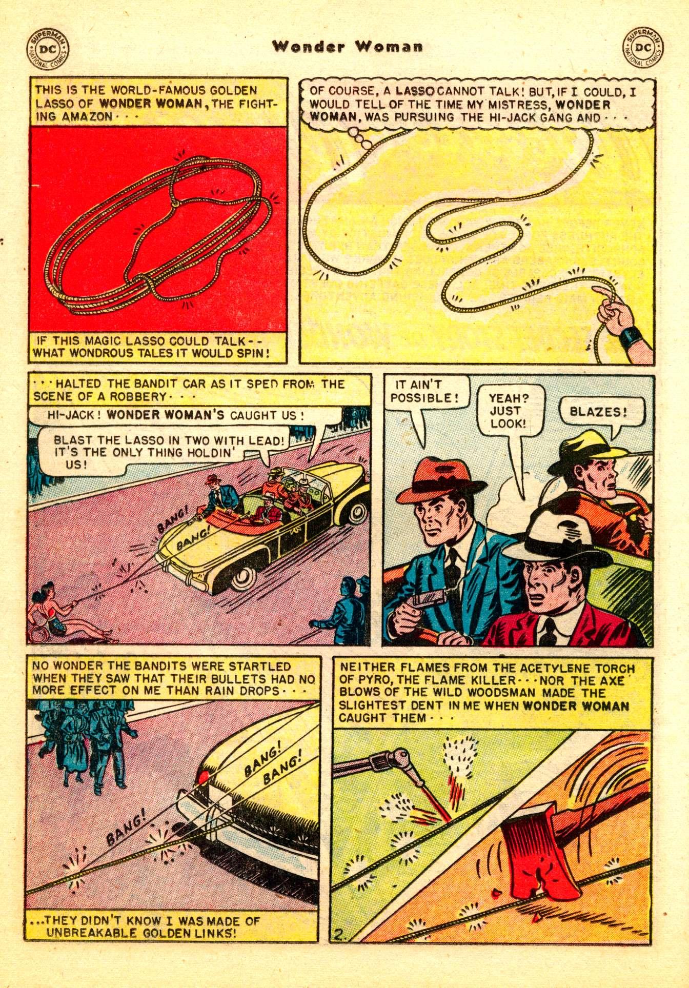 Read online Wonder Woman (1942) comic -  Issue #50 - 32