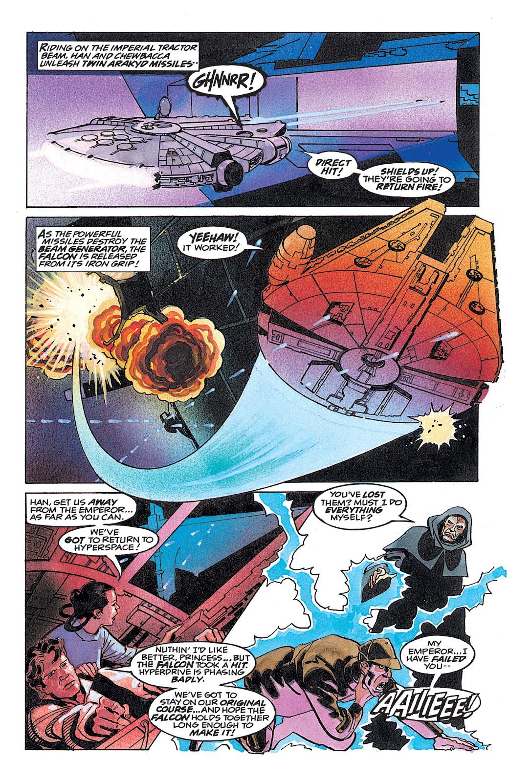 Read online Star Wars: Dark Empire Trilogy comic -  Issue # TPB (Part 4) - 39