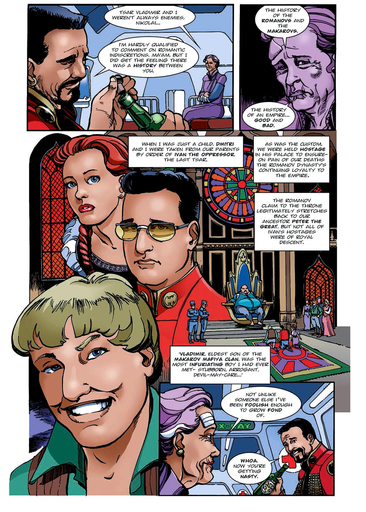 Read online Nikolai Dante comic -  Issue # TPB 4 - 139