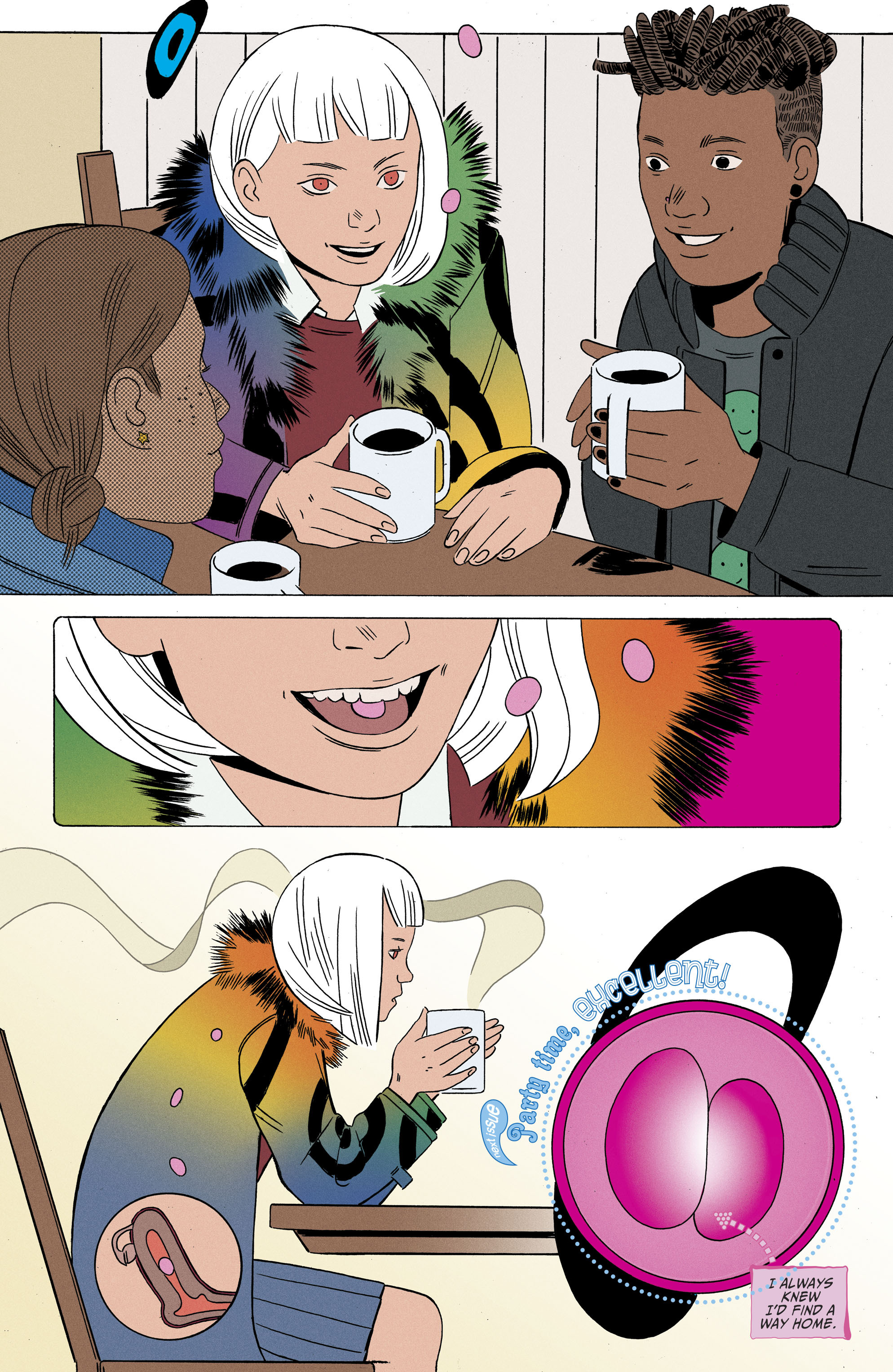 Read online Shade, the Changing Girl comic -  Issue #6 - 25