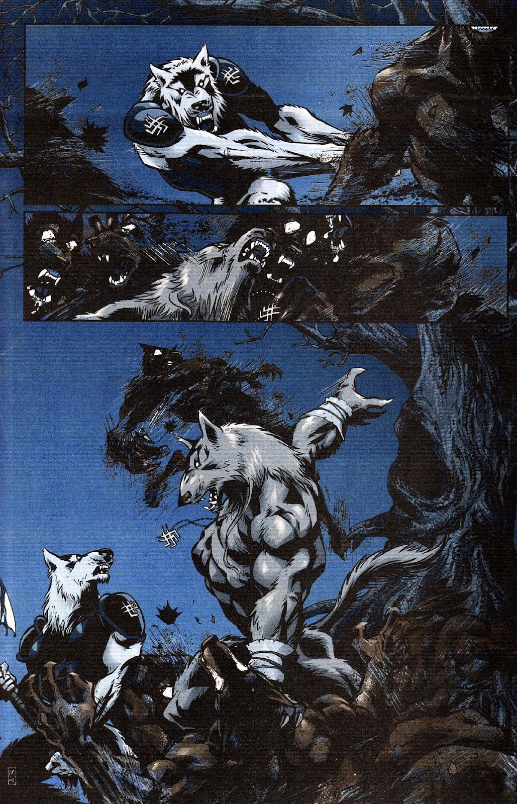 Read online Werewolf the Apocalypse comic -  Issue # Get of Fenris - 19