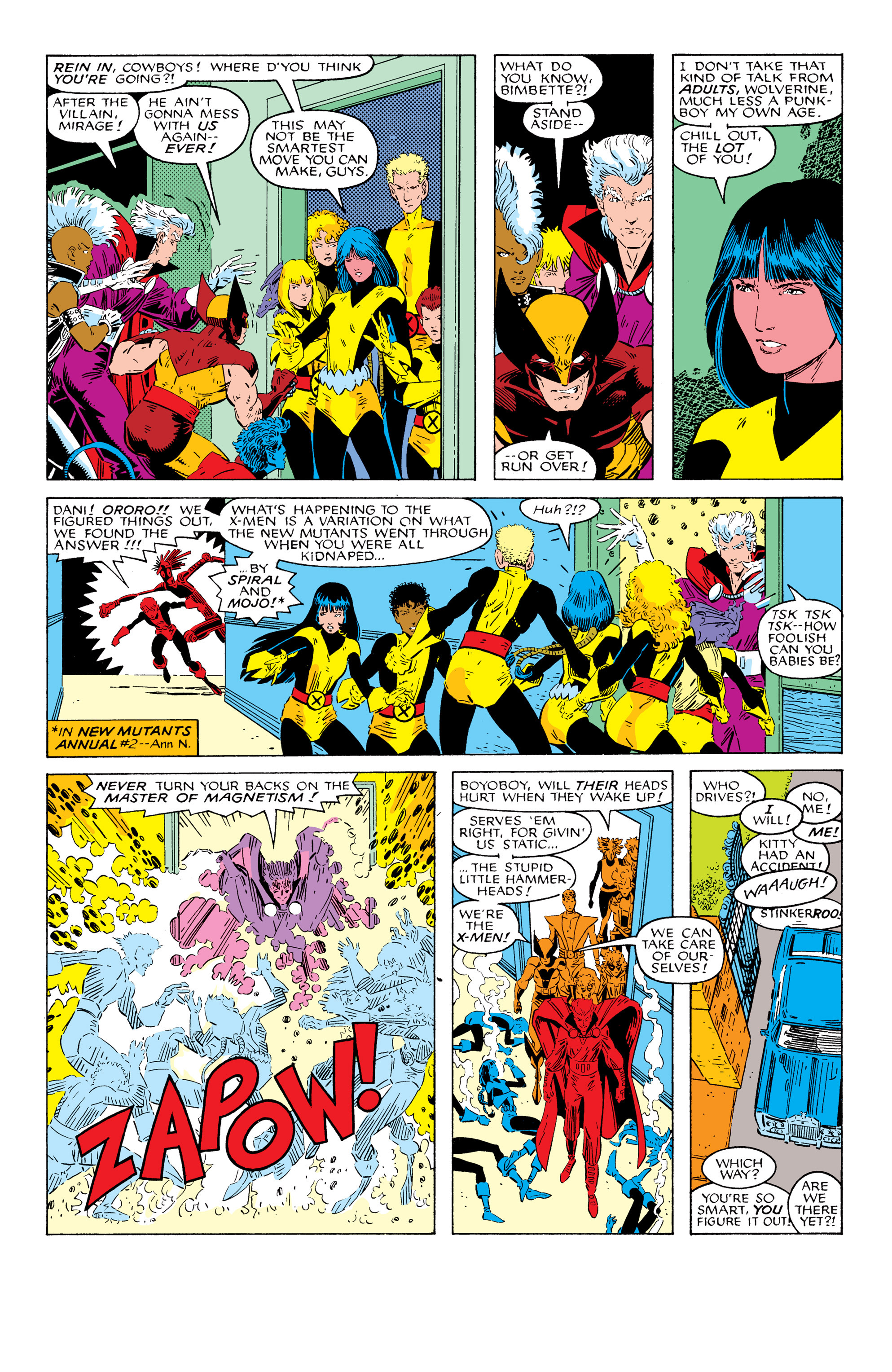 Read online Uncanny X-Men (1963) comic -  Issue # _Annual 10 - 14