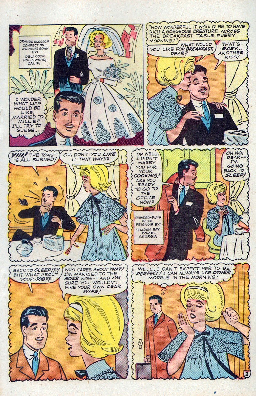 Read online Millie the Model comic -  Issue # Annual 2 - 53