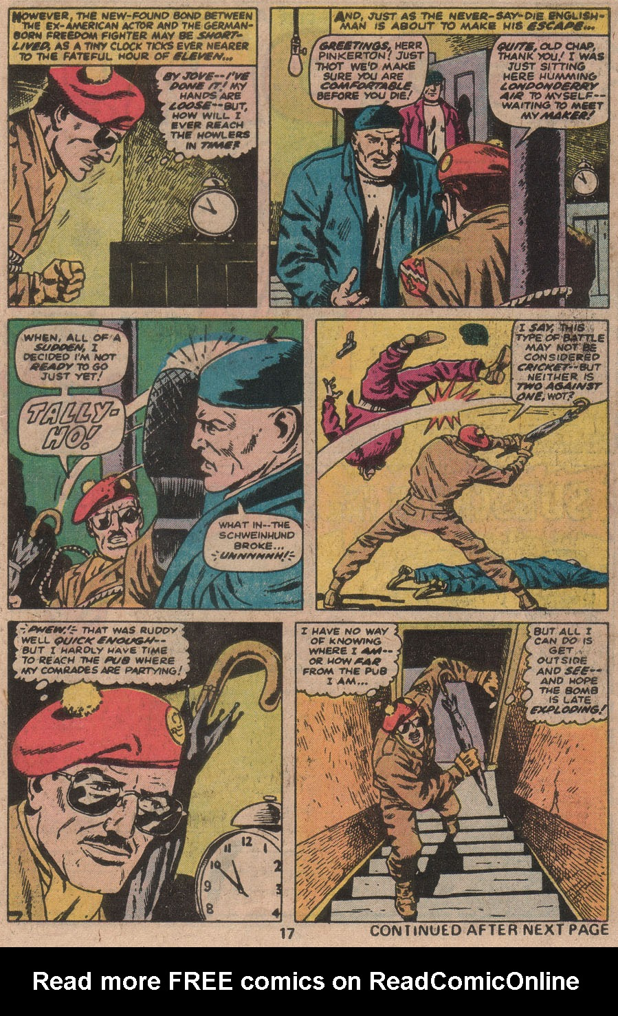 Read online Sgt. Fury comic -  Issue #142 - 19