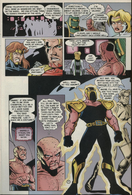 Read online Godwheel comic -  Issue #2 - 10