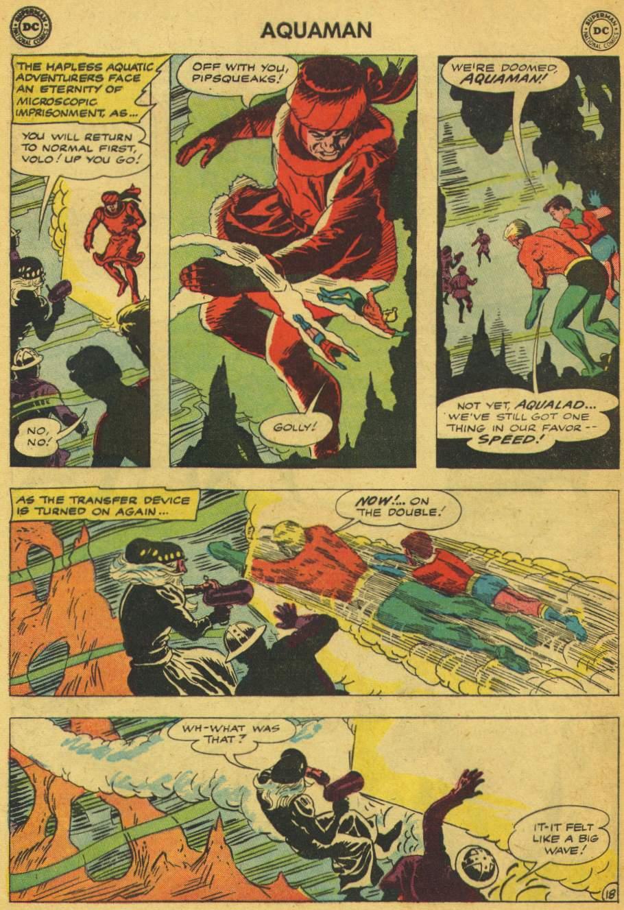 Read online Aquaman (1962) comic -  Issue #5 - 24