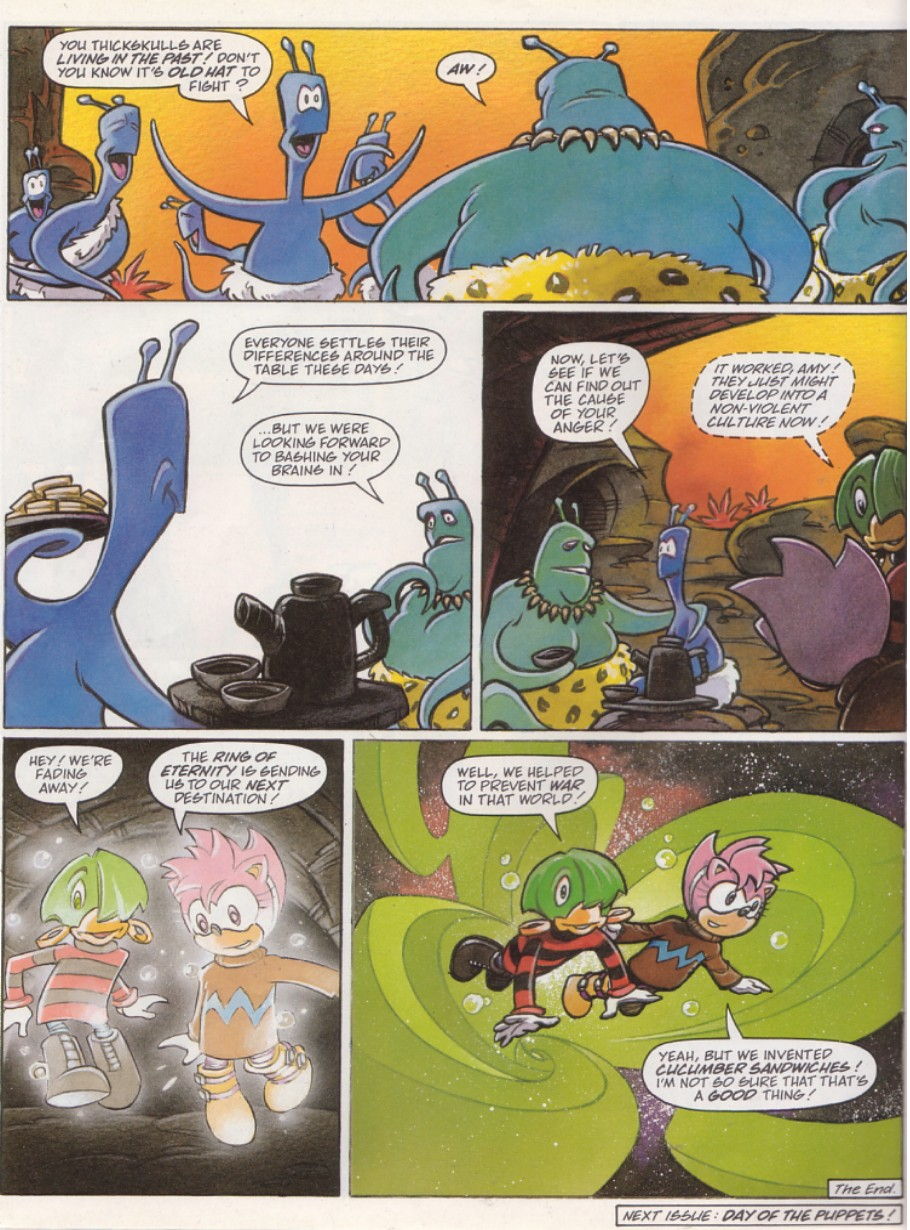 Read online Sonic the Comic comic -  Issue #136 - 21