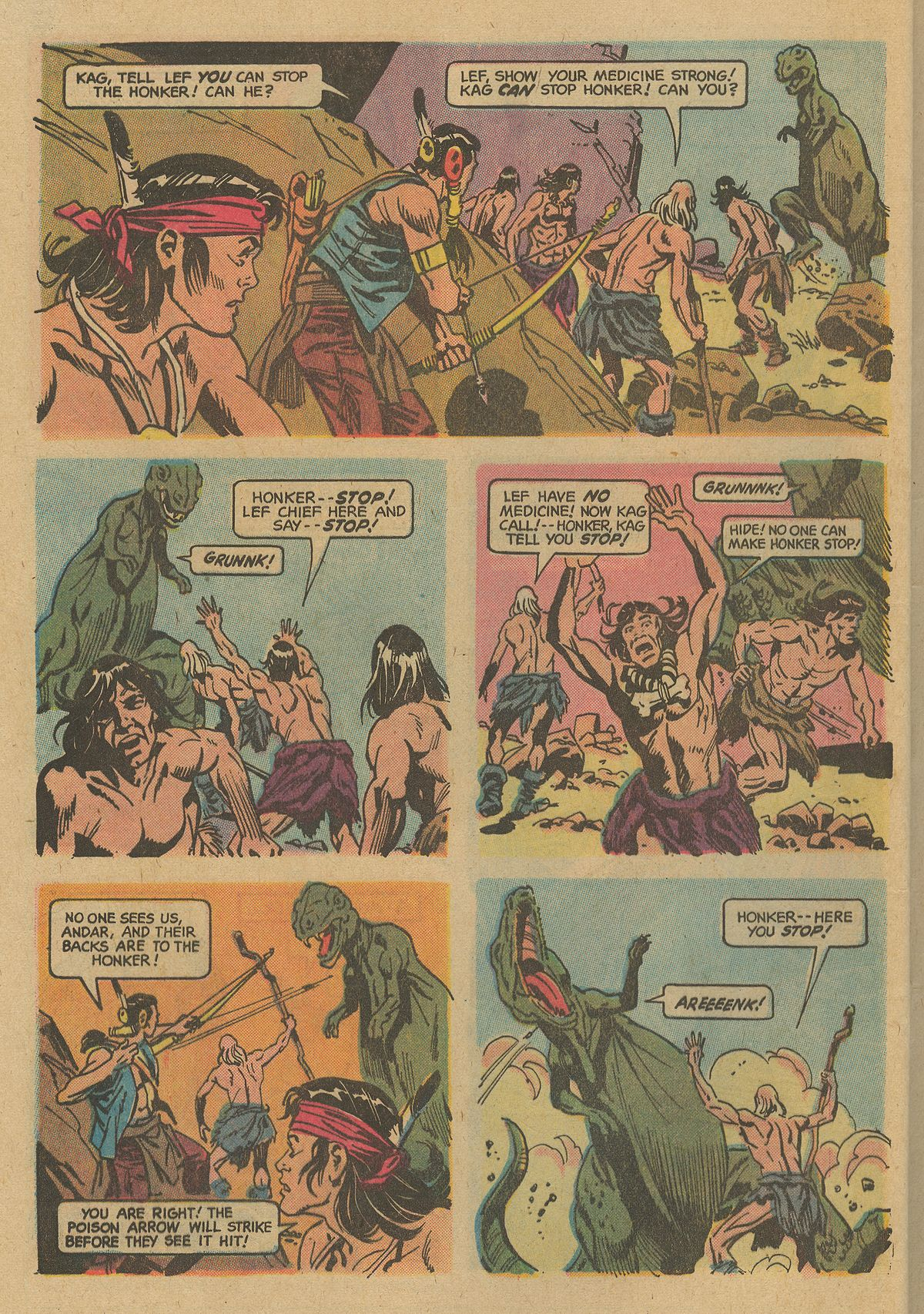 Read online Turok, Son of Stone comic -  Issue #74 - 31