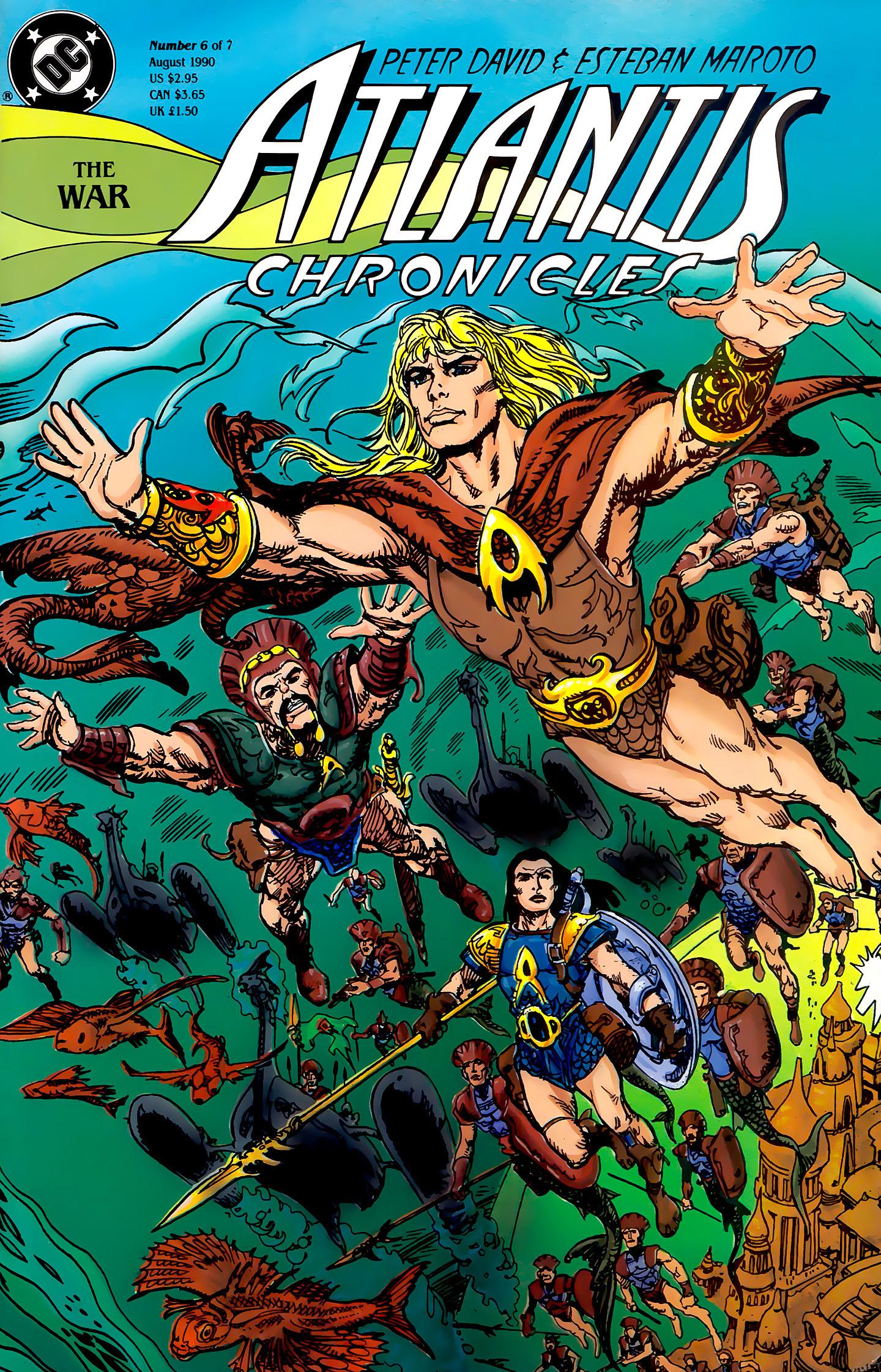 Atlantis Chronicles 6 Page 1