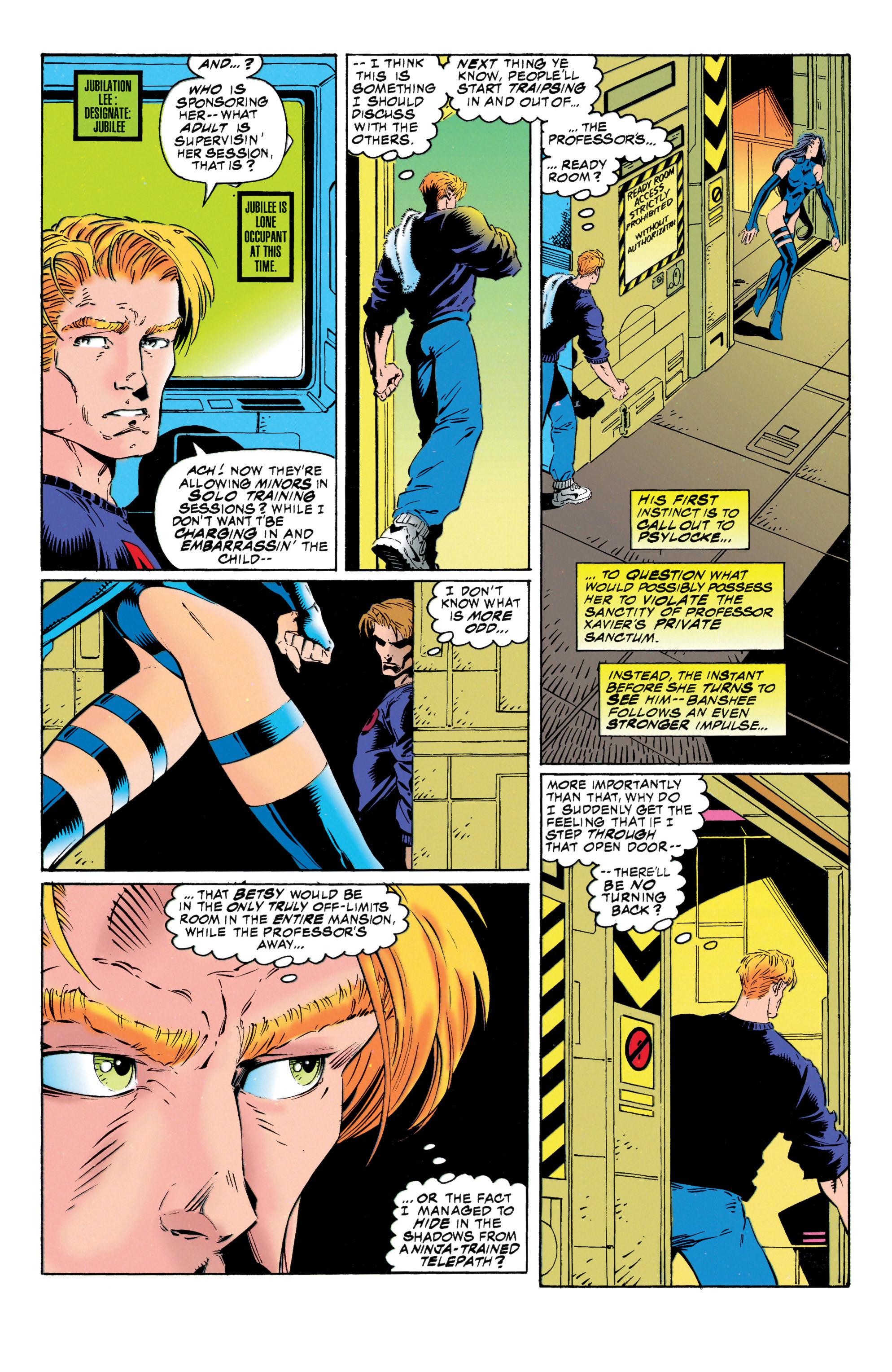 Read online Uncanny X-Men (1963) comic -  Issue #316 - 13