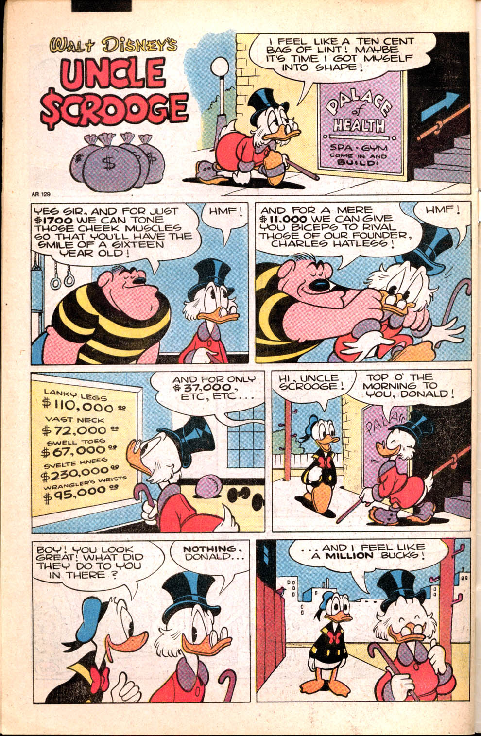 Read online Uncle Scrooge (1953) comic -  Issue #231 - 35