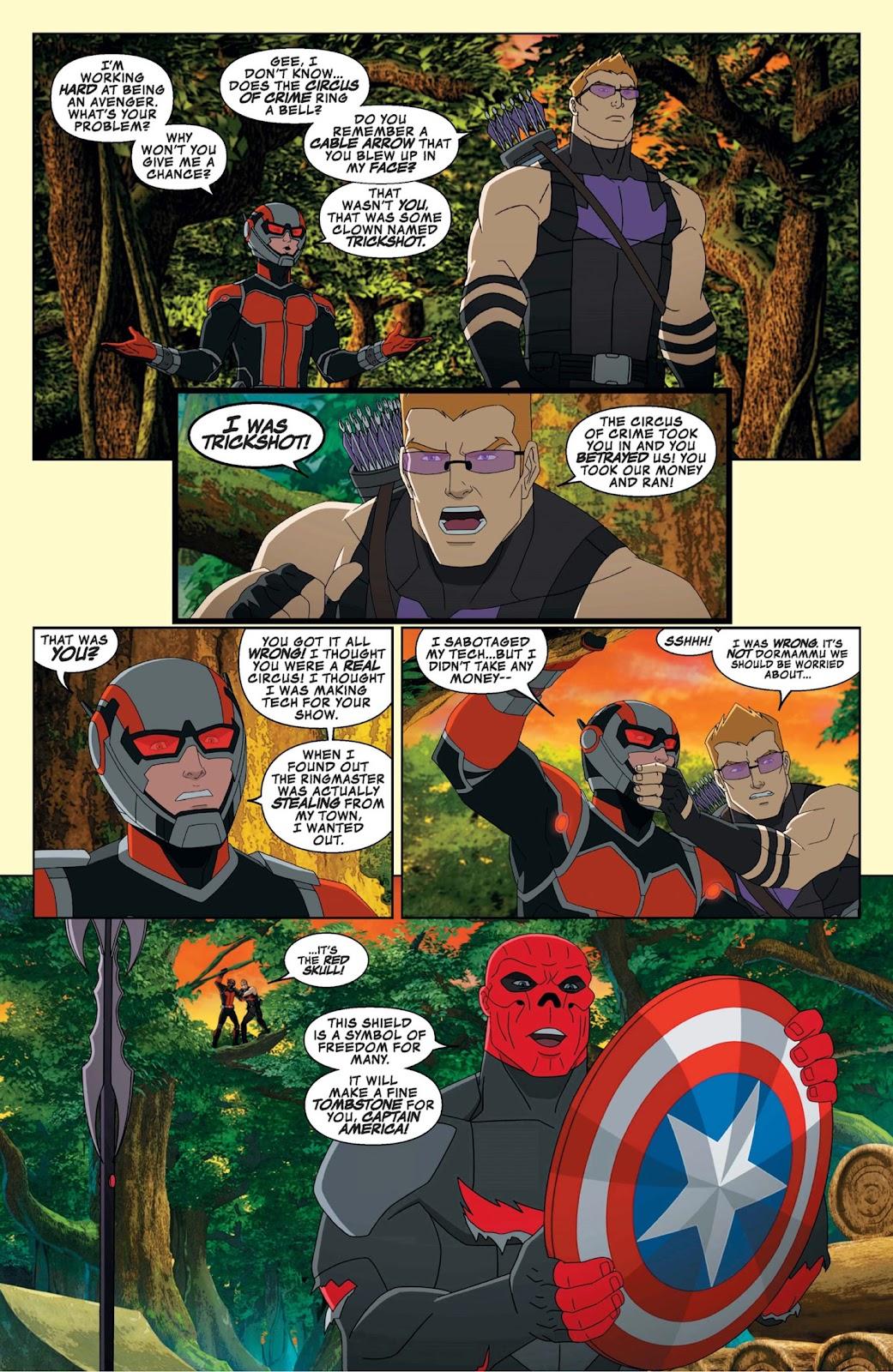Read online Marvel Universe Avengers Assemble Season 2 comic -  Issue #9 - 15