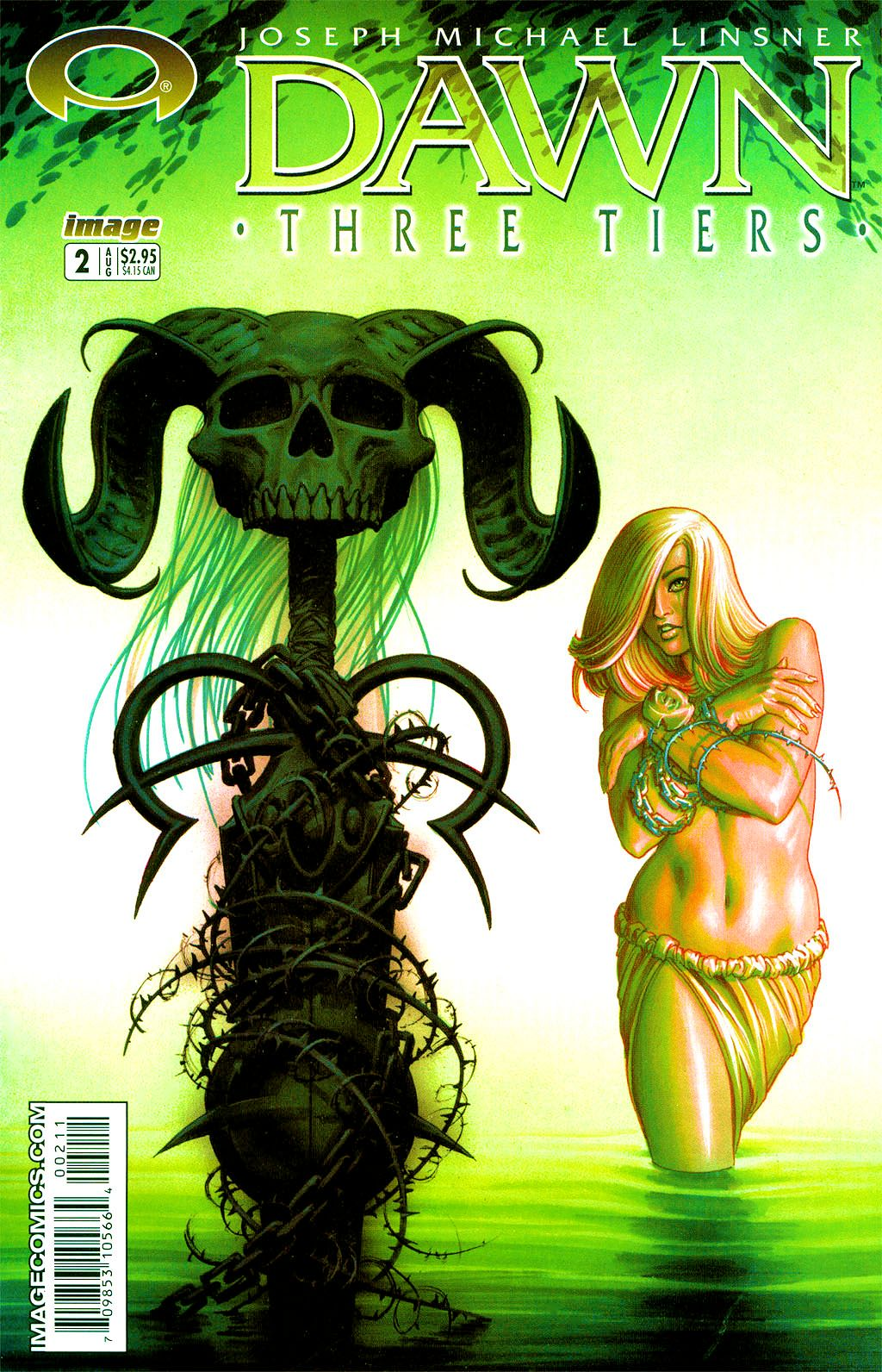 Read online Dawn: Three Tiers comic -  Issue #2 - 2
