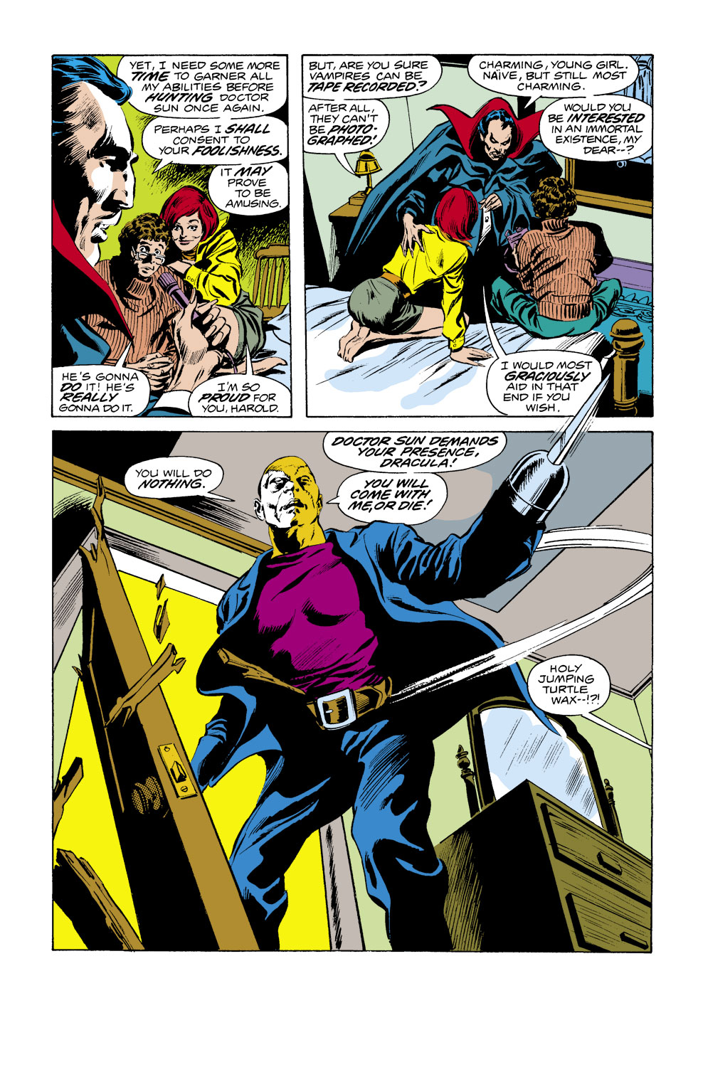 Tomb of Dracula (1972) issue 38 - Page 17