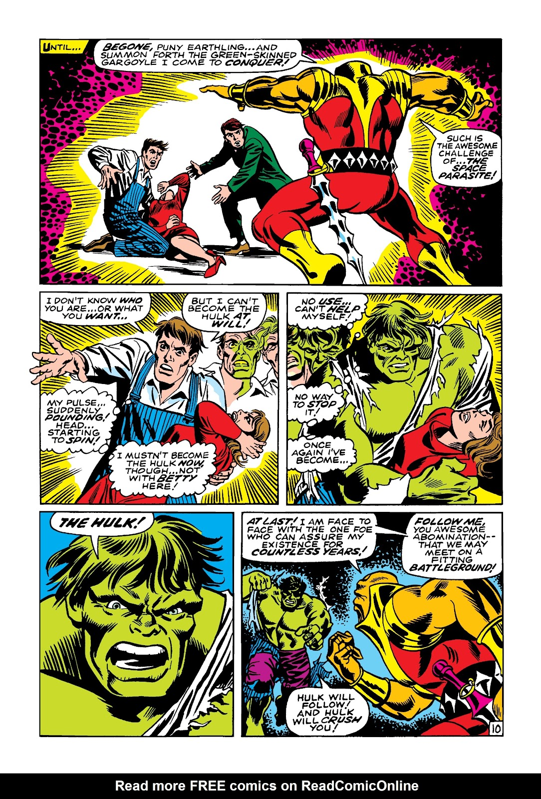 Read online Marvel Masterworks: The Incredible Hulk comic -  Issue # TPB 4 (Part 1) - 17
