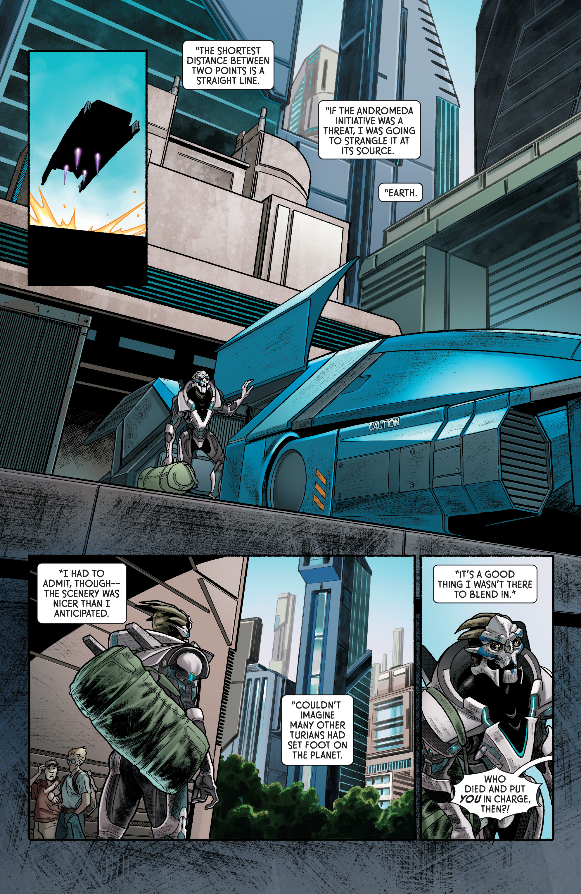 Read online Mass Effect: Discovery comic -  Issue #1 - 13