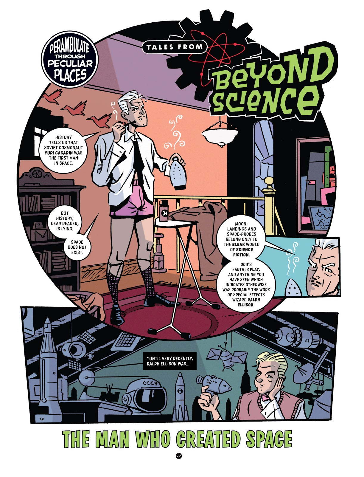 Read online Tales from Beyond Science comic -  Issue # TPB - 73