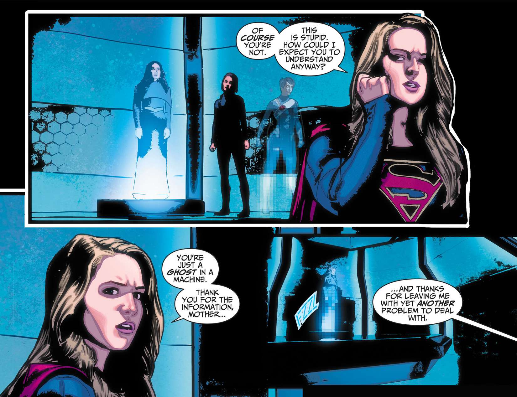 Read online Adventures of Supergirl comic -  Issue #10 - 21