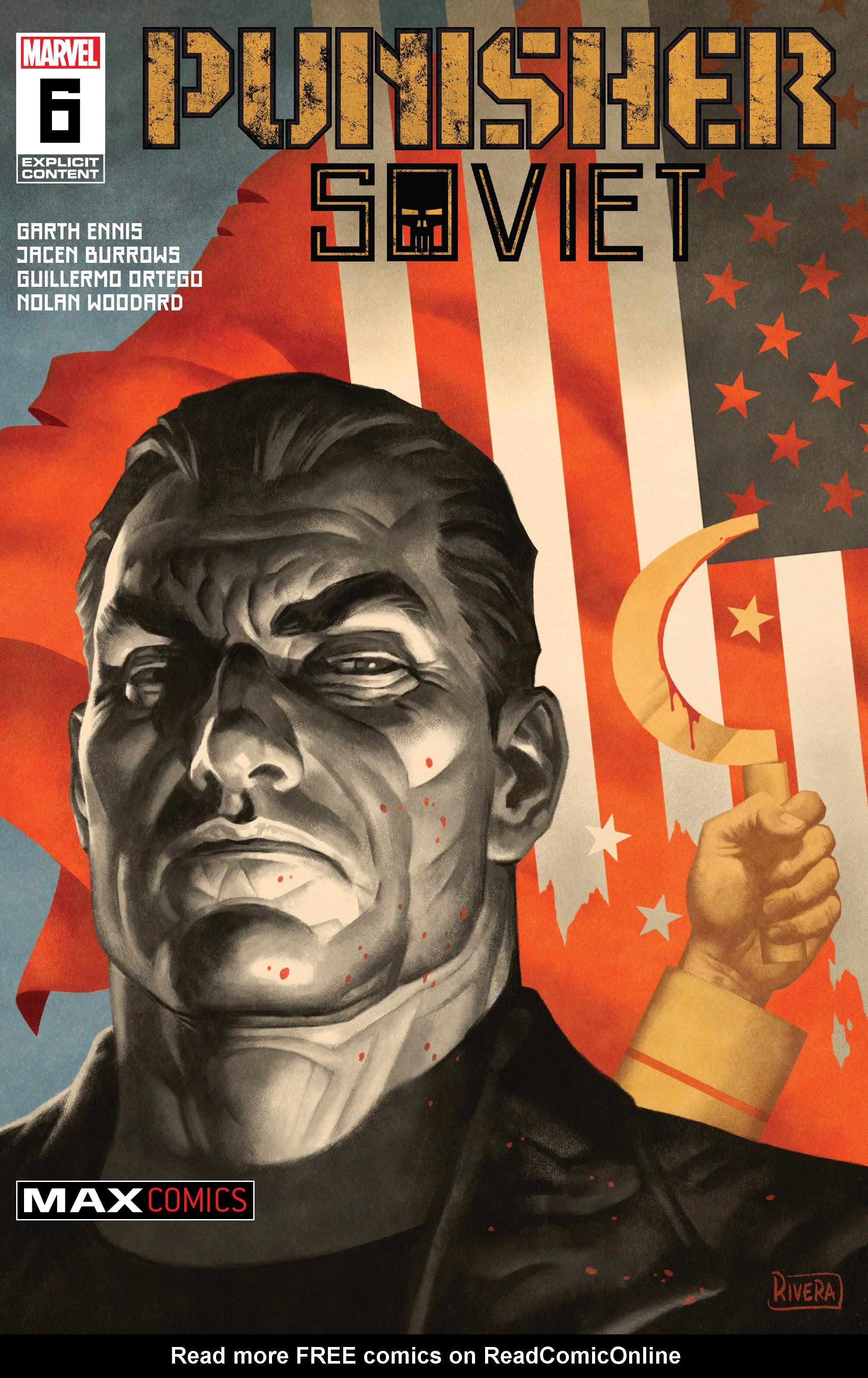 Punisher: Soviet 6 Page 1