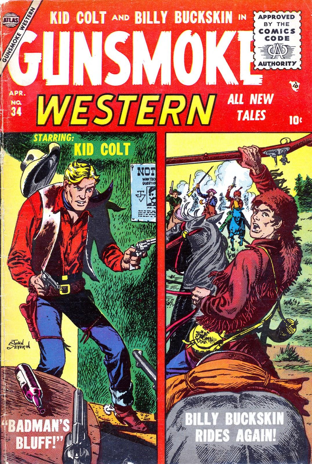 Gunsmoke Western issue 34 - Page 1