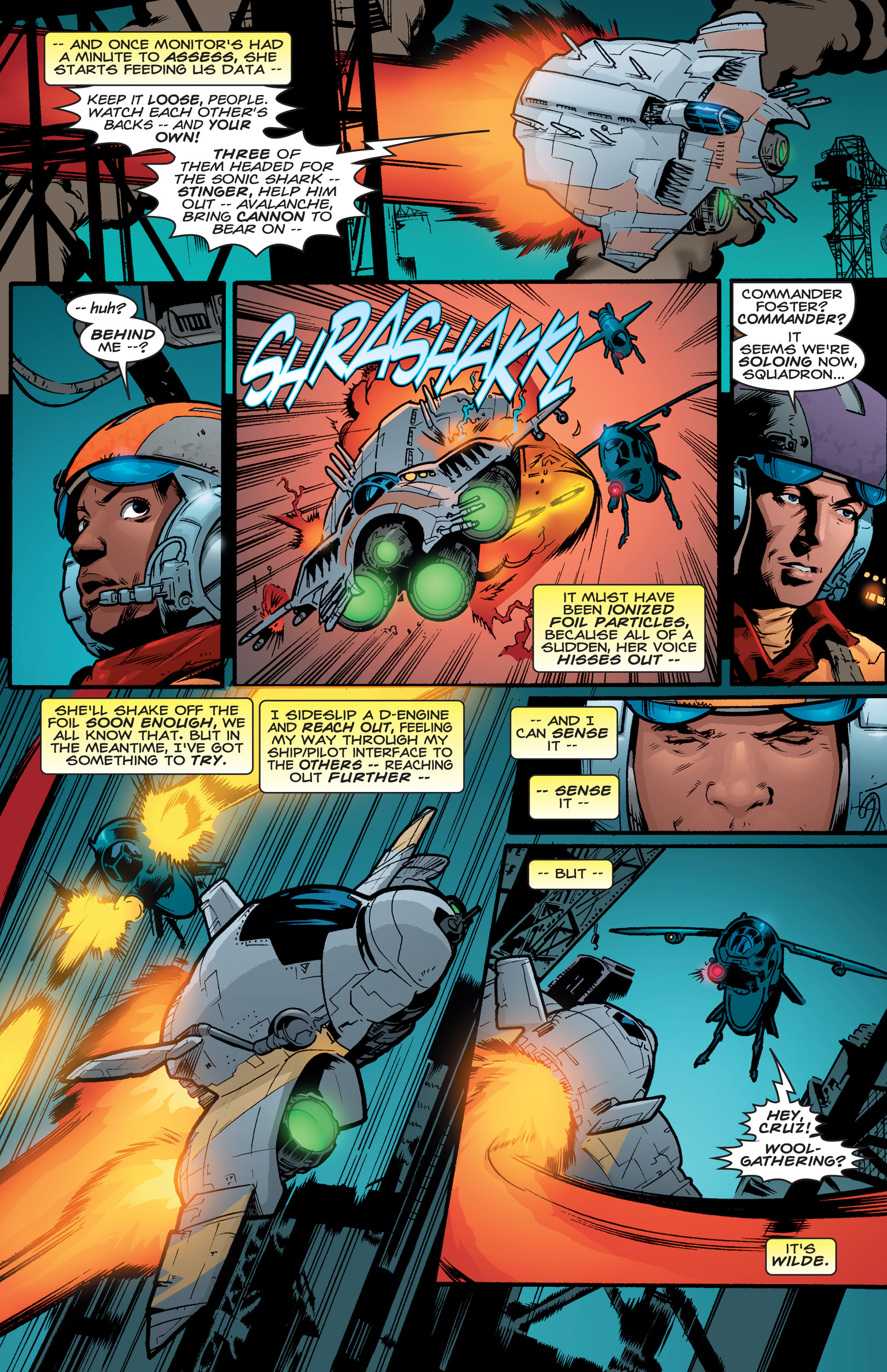 Read online Shockrockets comic -  Issue # TPB - 137