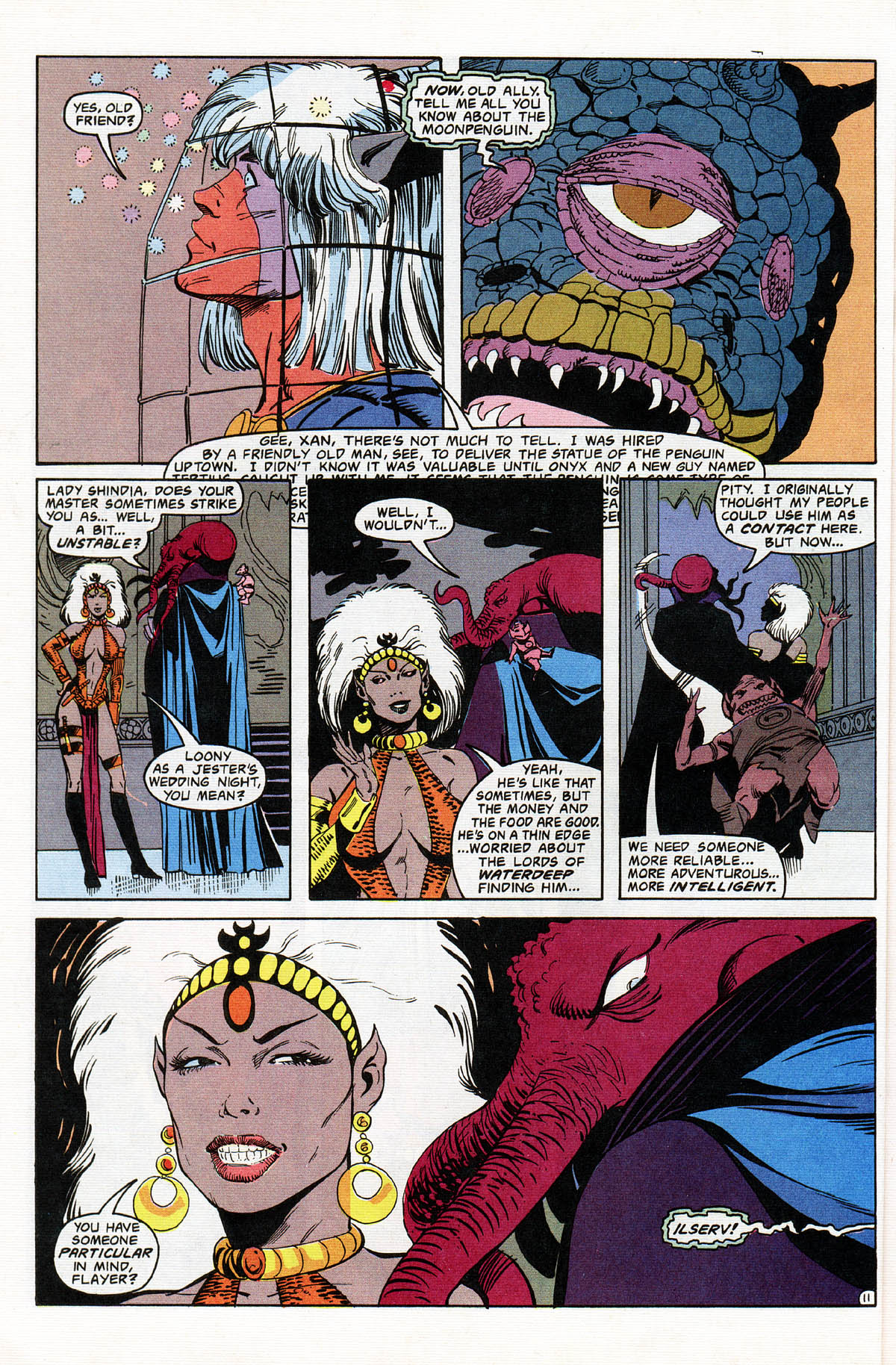 Read online Advanced Dungeons & Dragons comic -  Issue #11 - 13