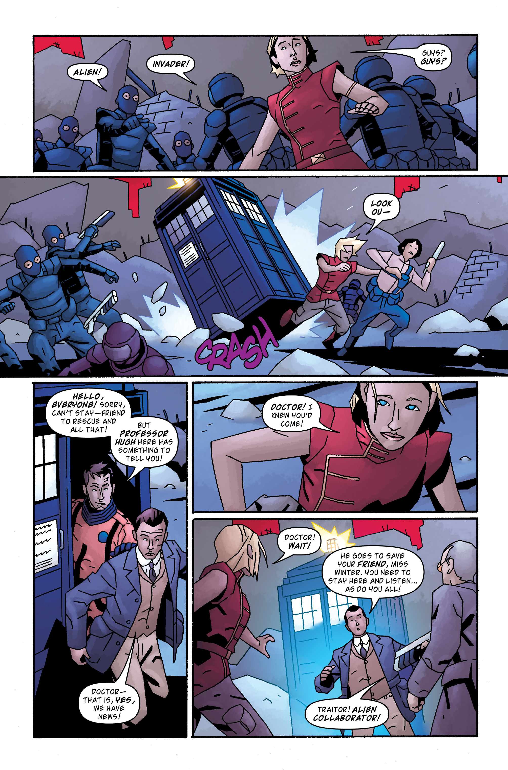 Read online Doctor Who: The Tenth Doctor Archives comic -  Issue #33 - 12