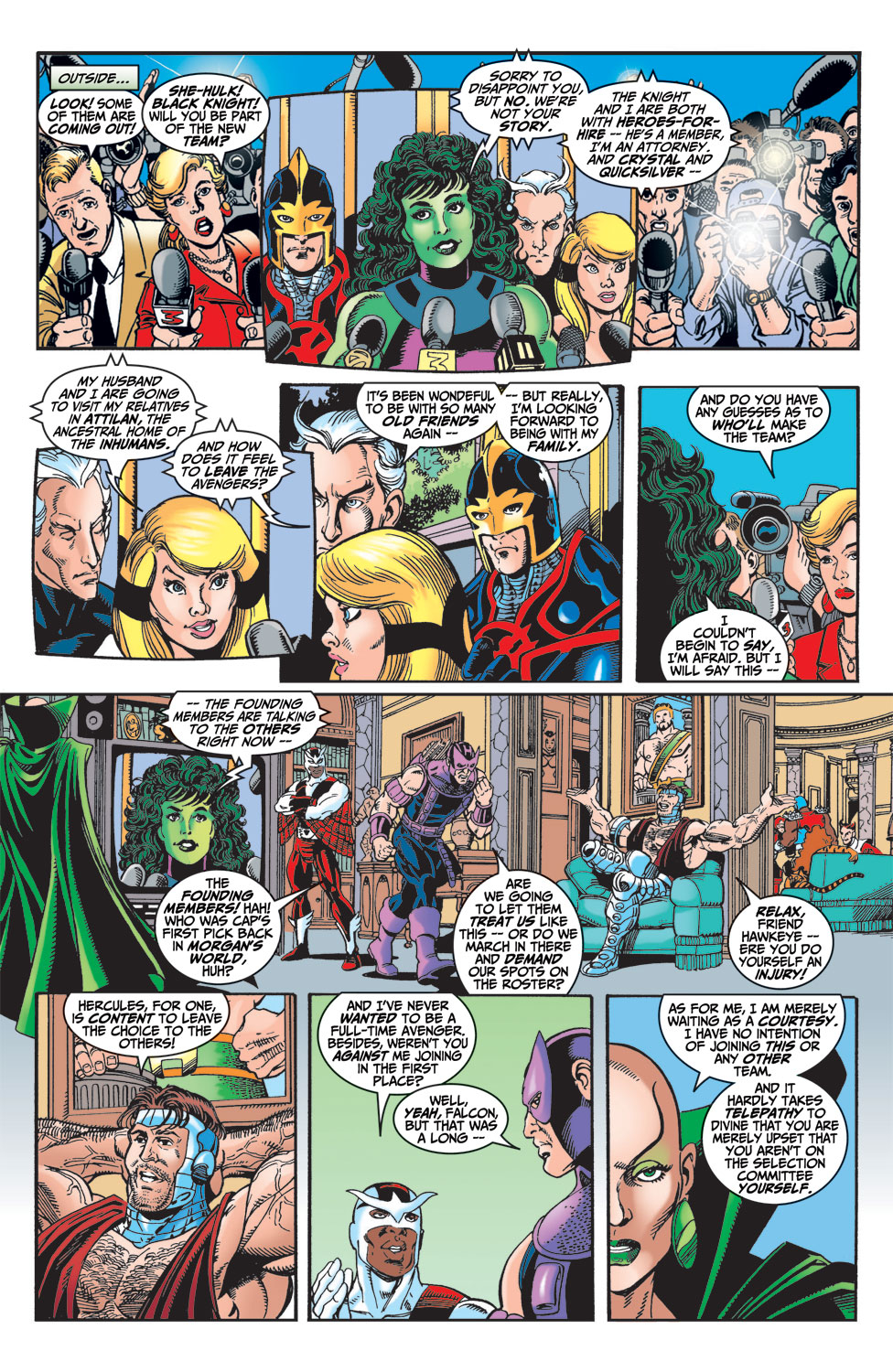 Read online Avengers (1998) comic -  Issue #4 - 11