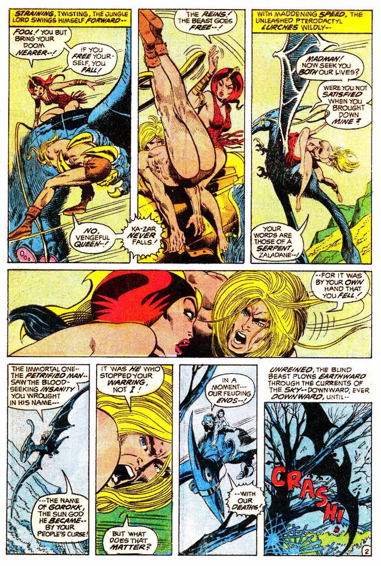 Read online Astonishing Tales (1970) comic -  Issue #5 - 13