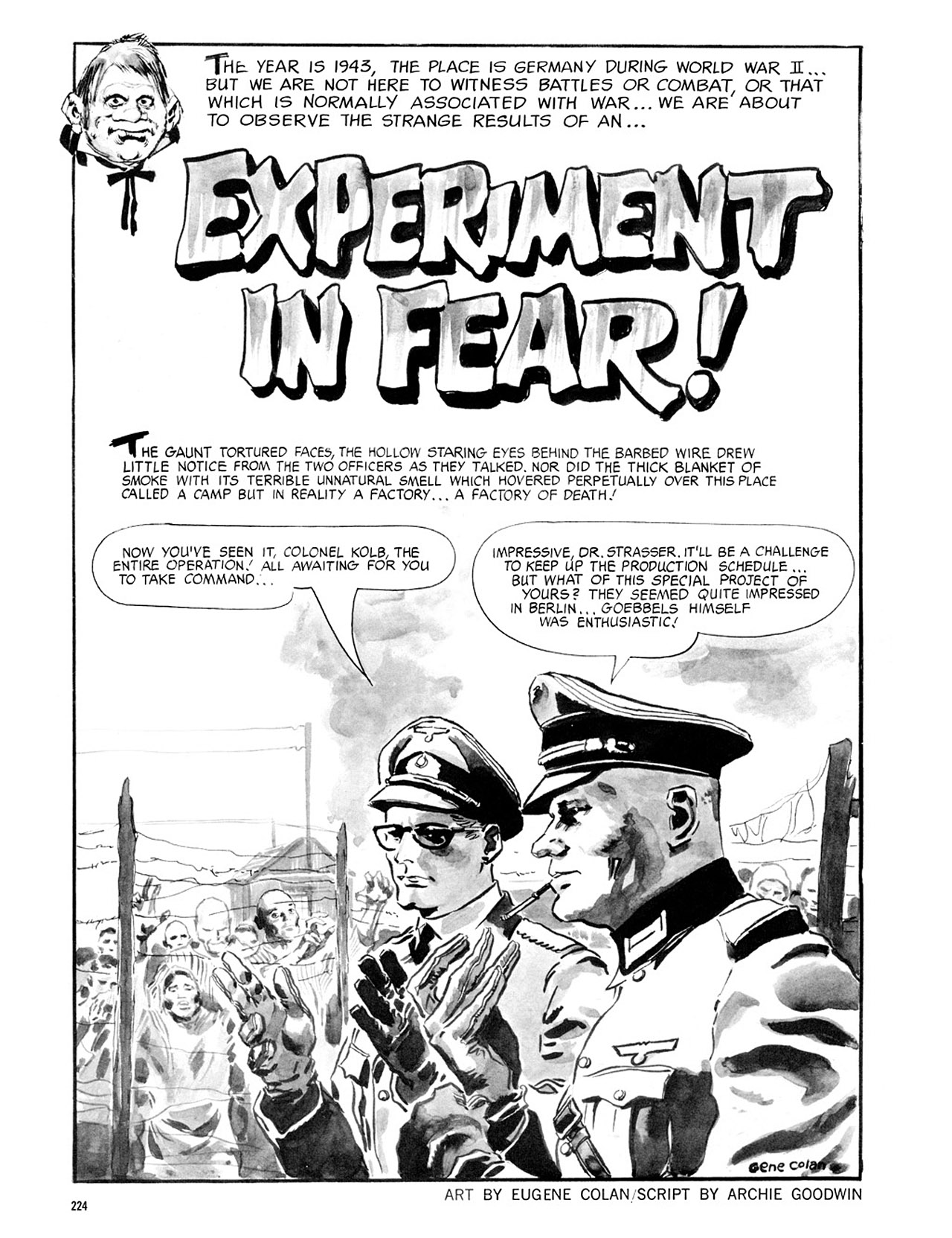 Read online Eerie Archives comic -  Issue # TPB 2 - 225