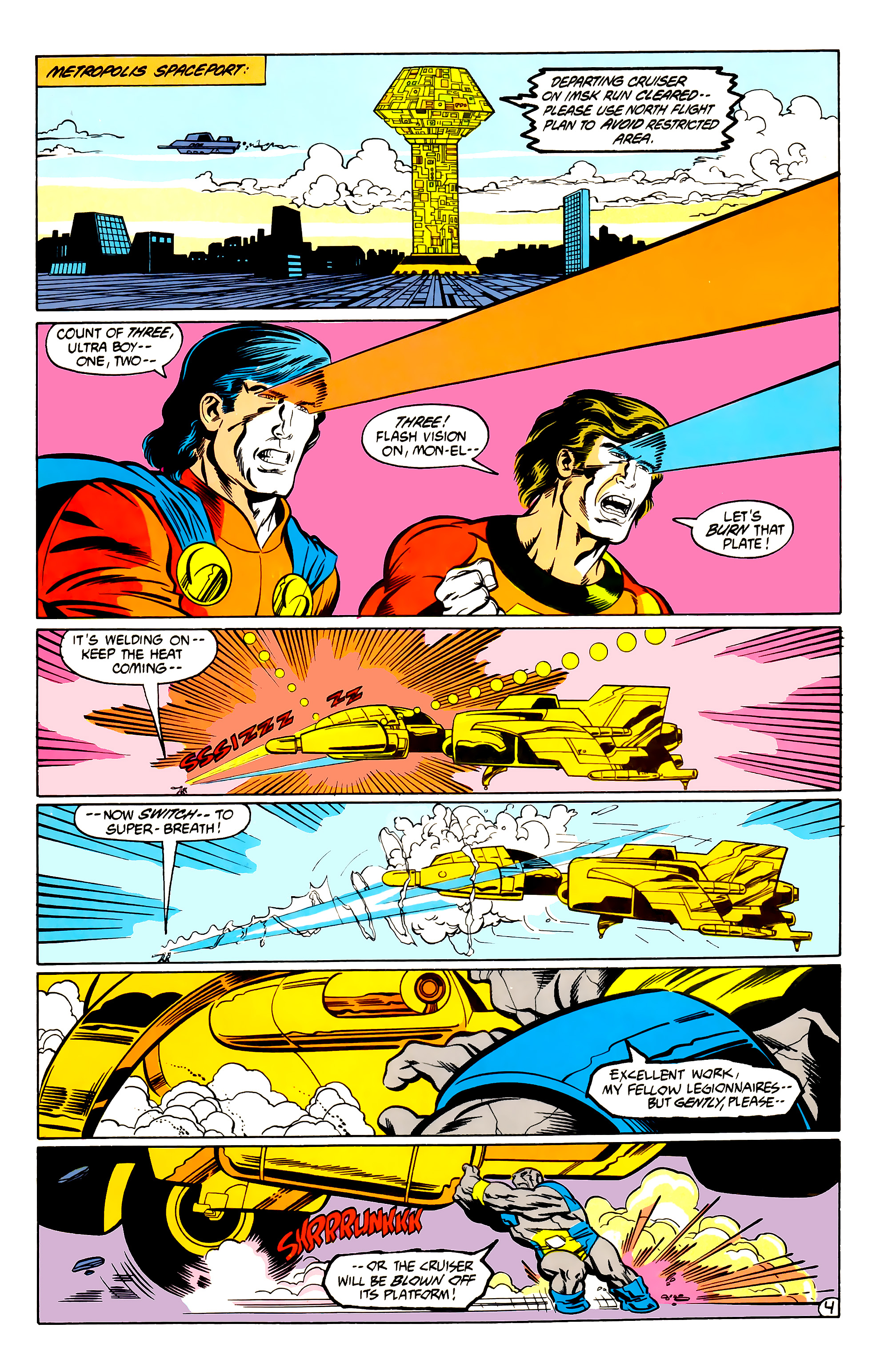 Legion of Super-Heroes (1984) 30 Page 4