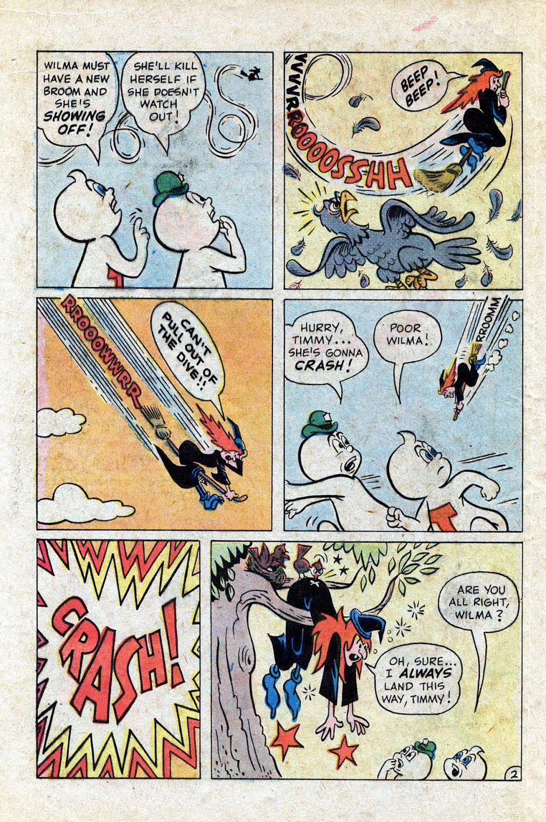 Read online Timmy the Timid Ghost comic -  Issue #20 - 16