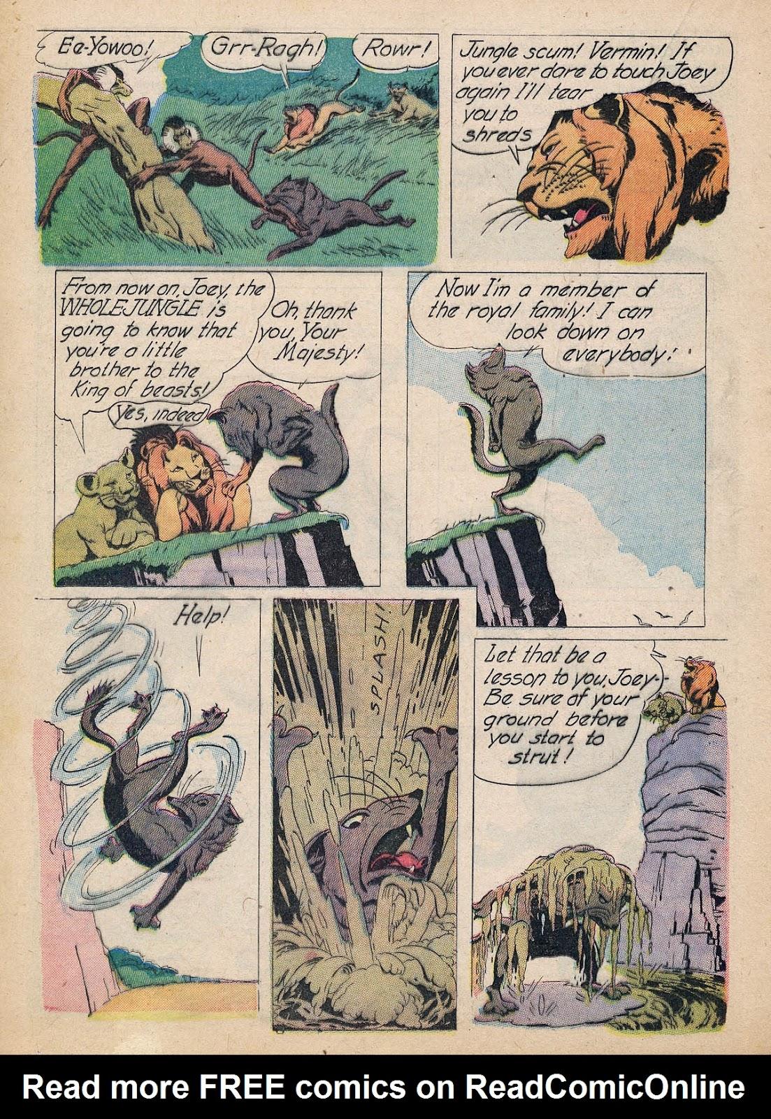 Read online Animal Comics comic -  Issue #7 - 36