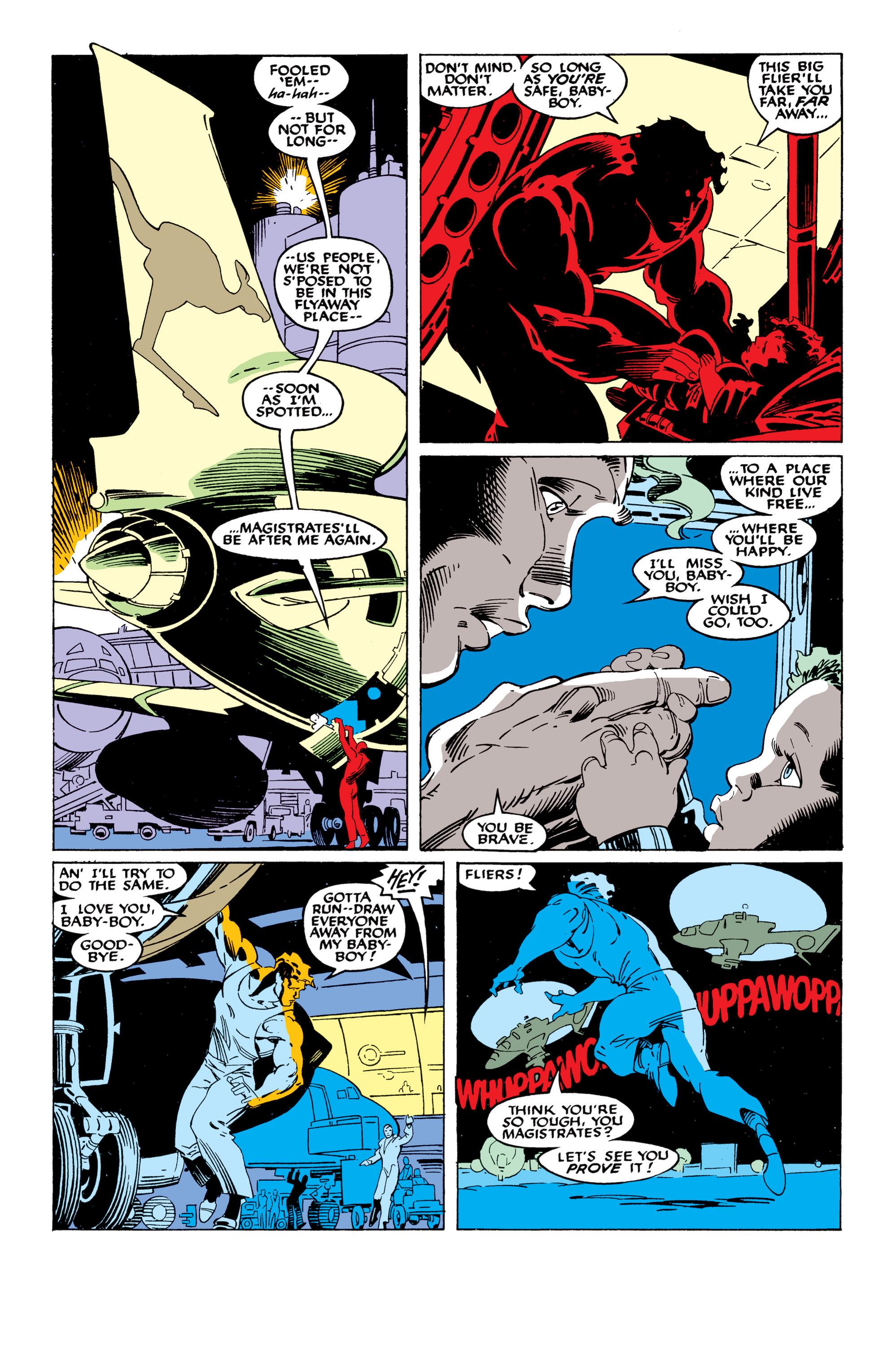 Read online Uncanny X-Men (1963) comic -  Issue #235 - 4