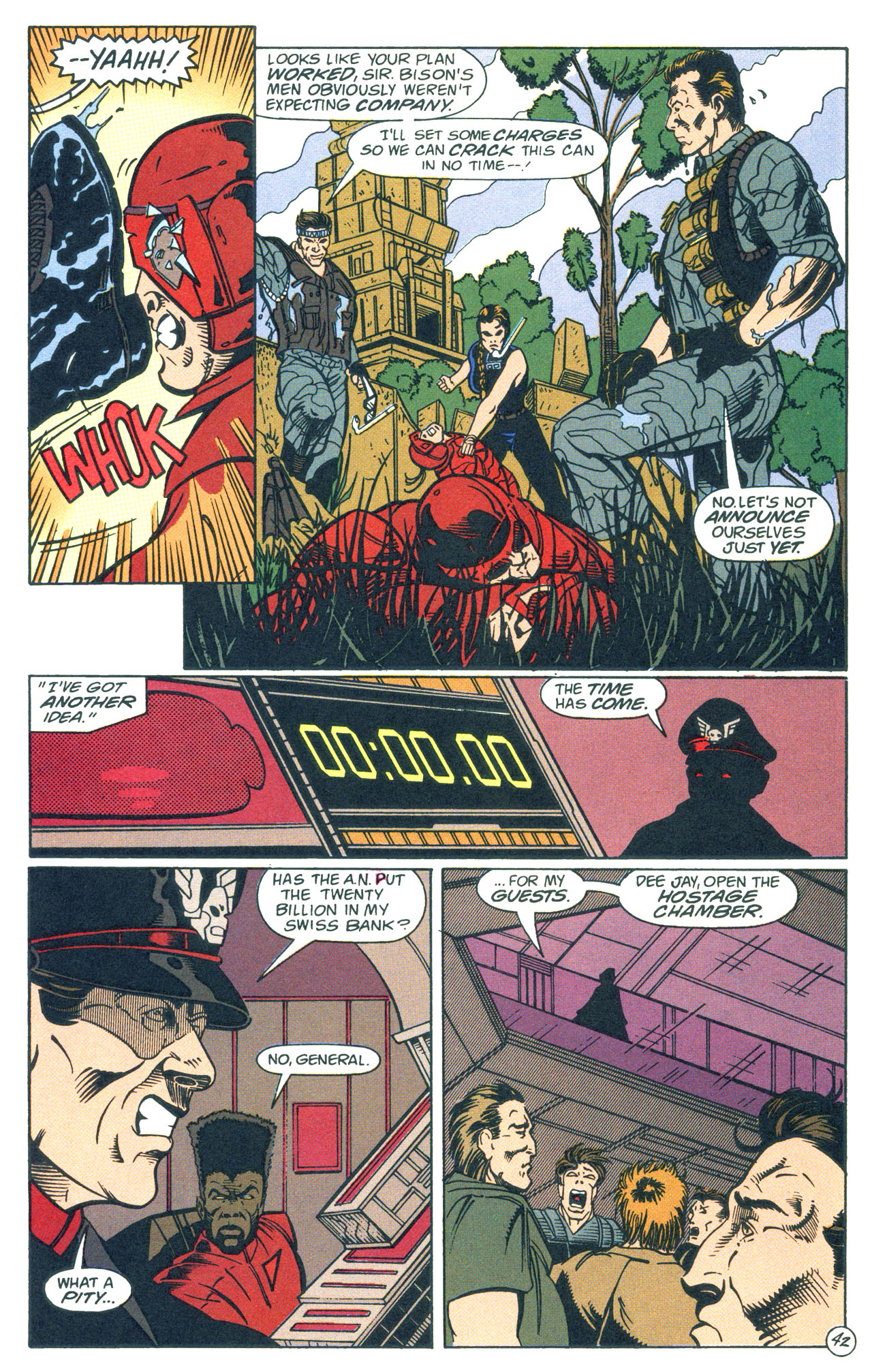 Read online Street Fighter: The Battle For Shadaloo comic -  Issue # Full - 43
