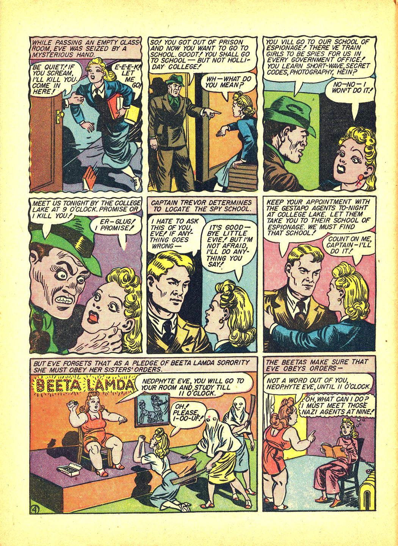 Read online Sensation (Mystery) Comics comic -  Issue #4 - 6