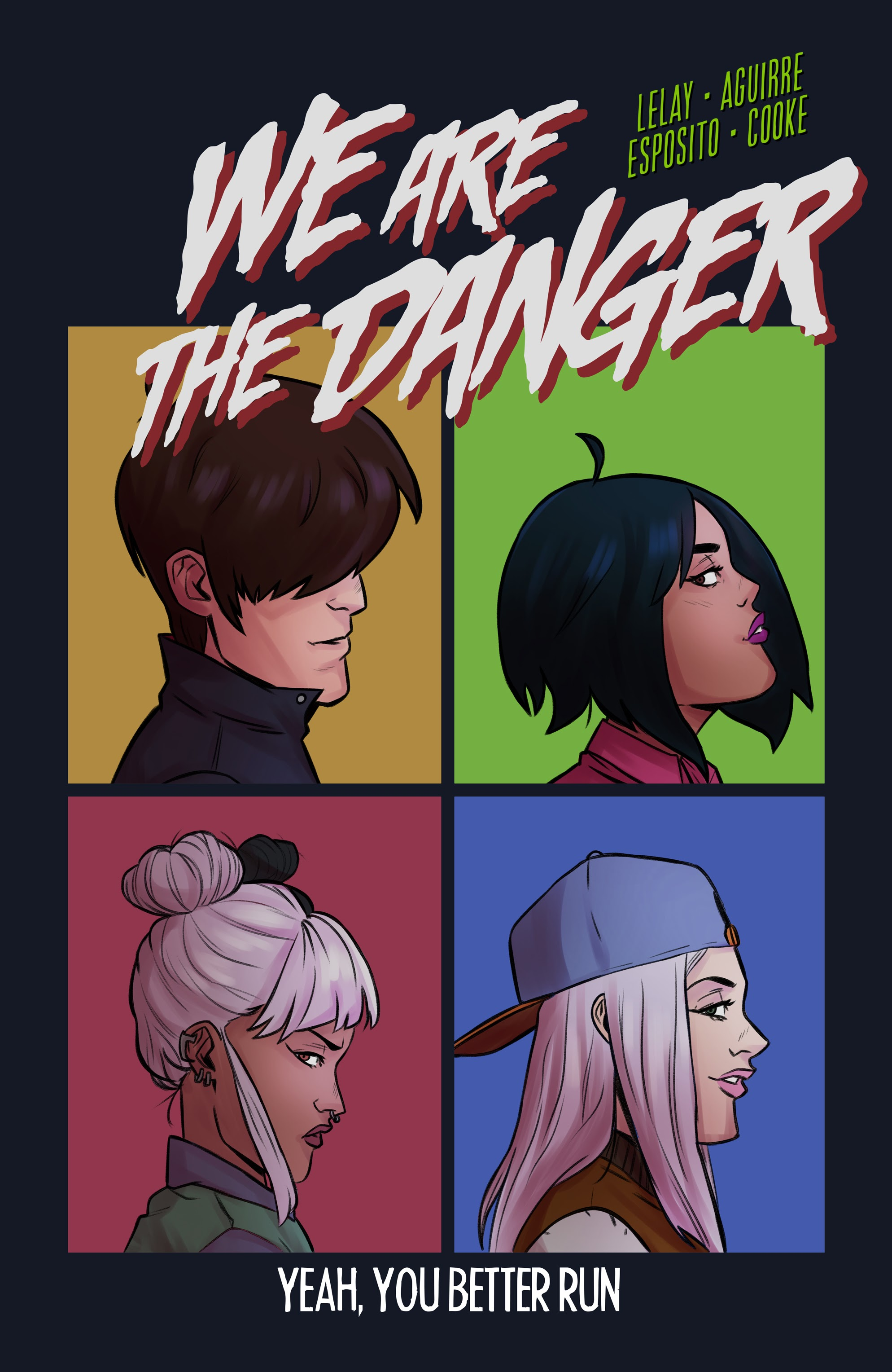 We Are The Danger 5 Page 1
