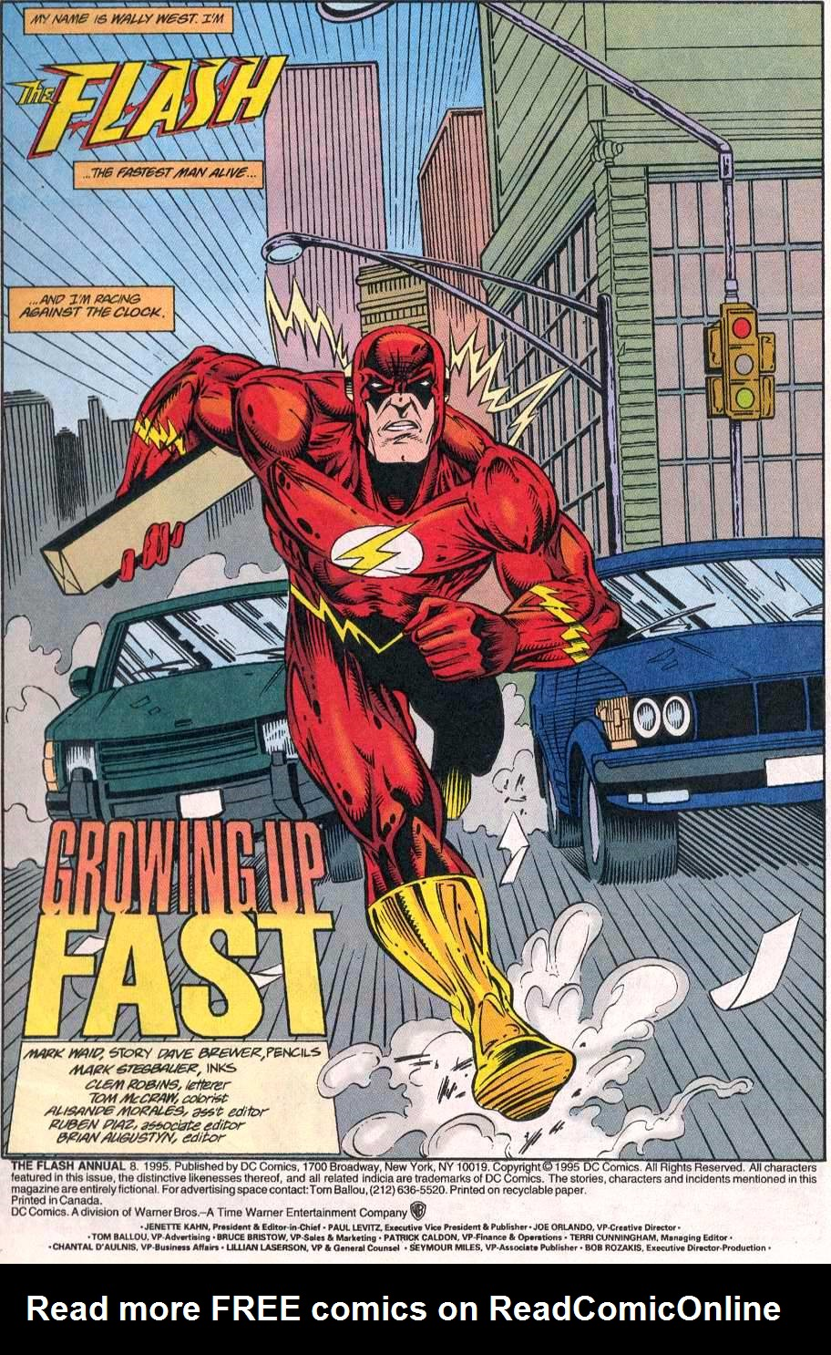 Read online The Flash (1987) comic -  Issue # _Annual 8 - 2