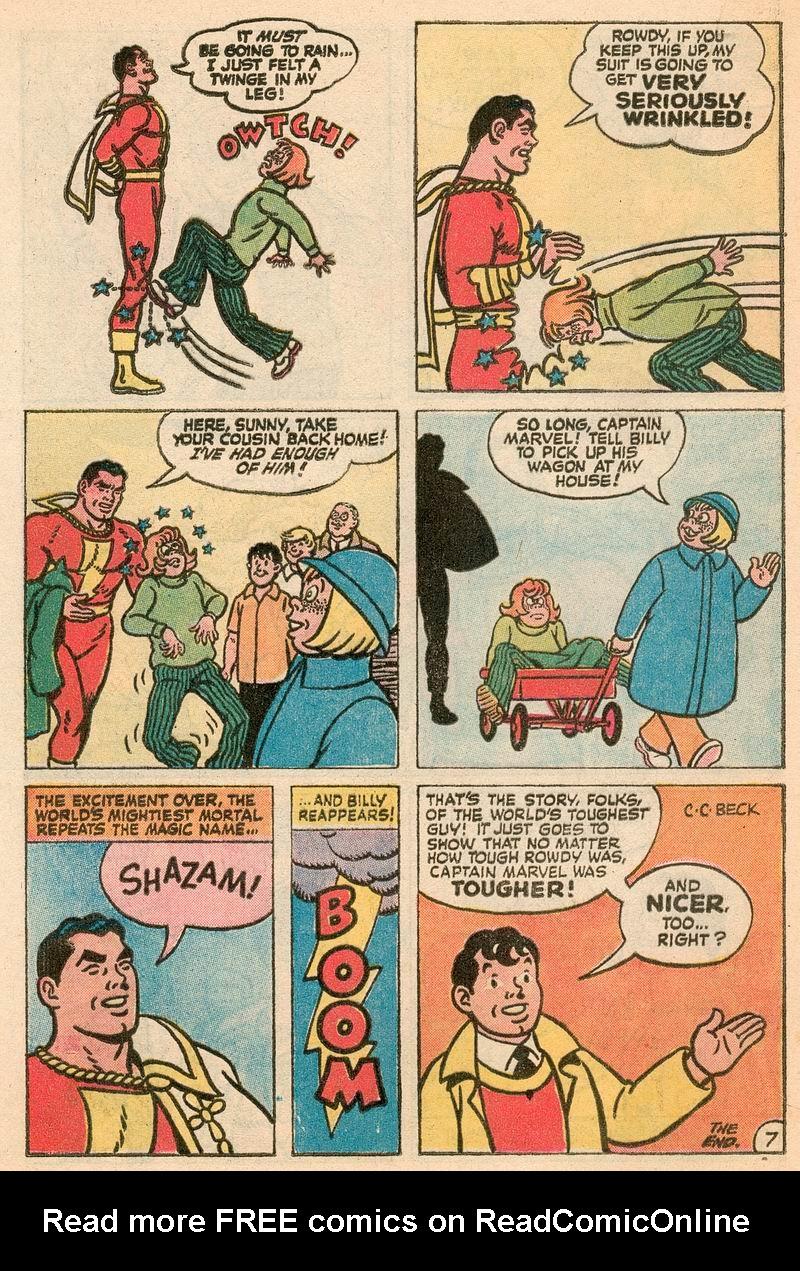 Read online Shazam! (1973) comic -  Issue #5 - 16