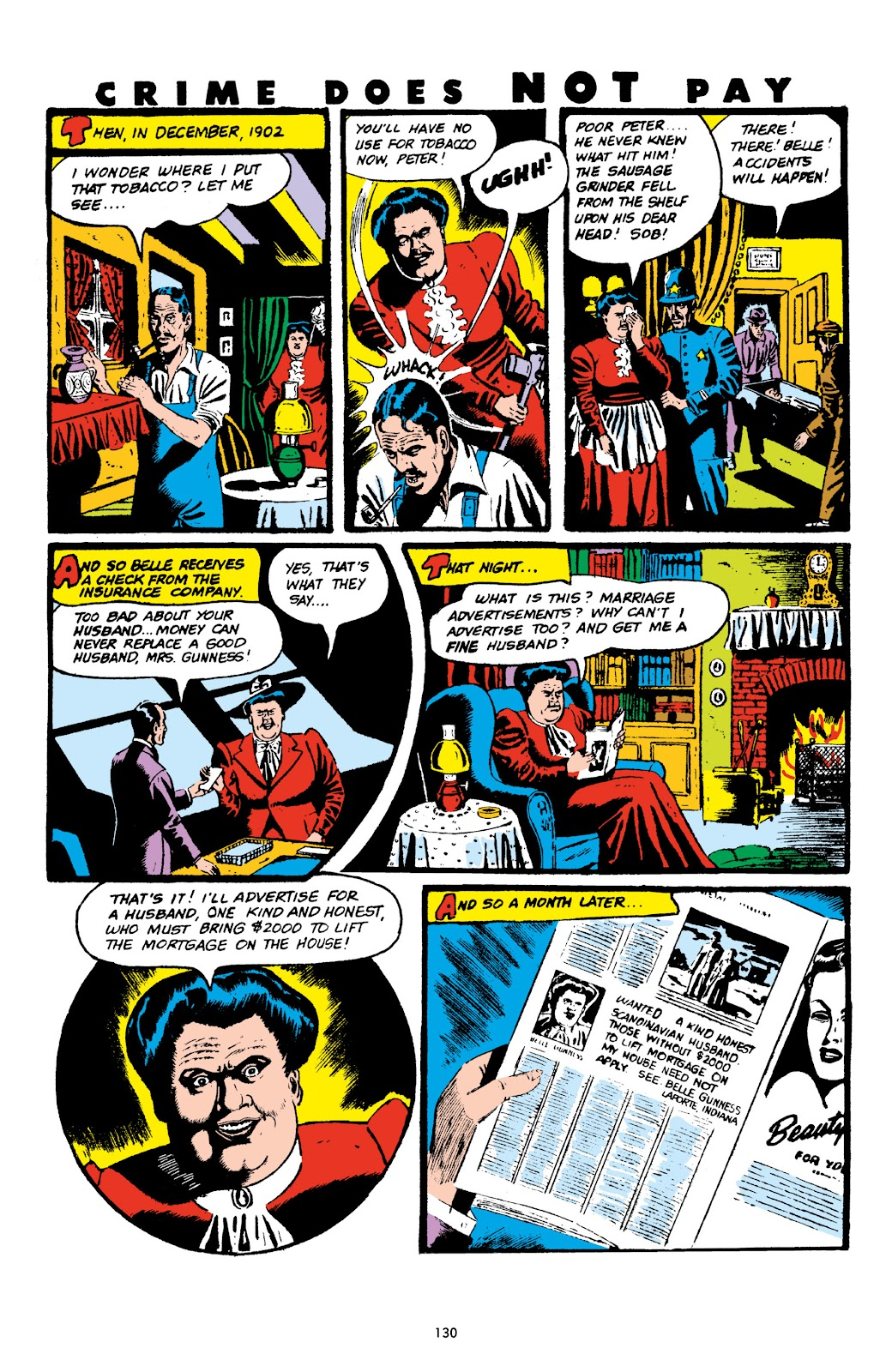 Read online Crime Does Not Pay Archives comic -  Issue # TPB 6 (Part 2) - 32