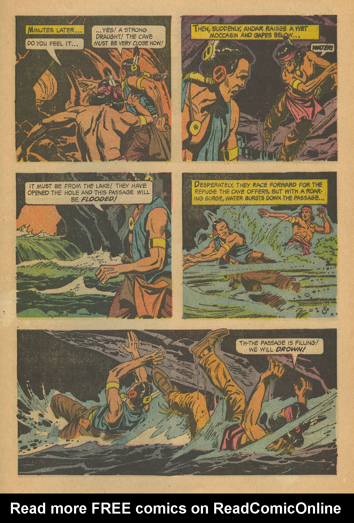 Read online Turok, Son of Stone comic -  Issue #43 - 29