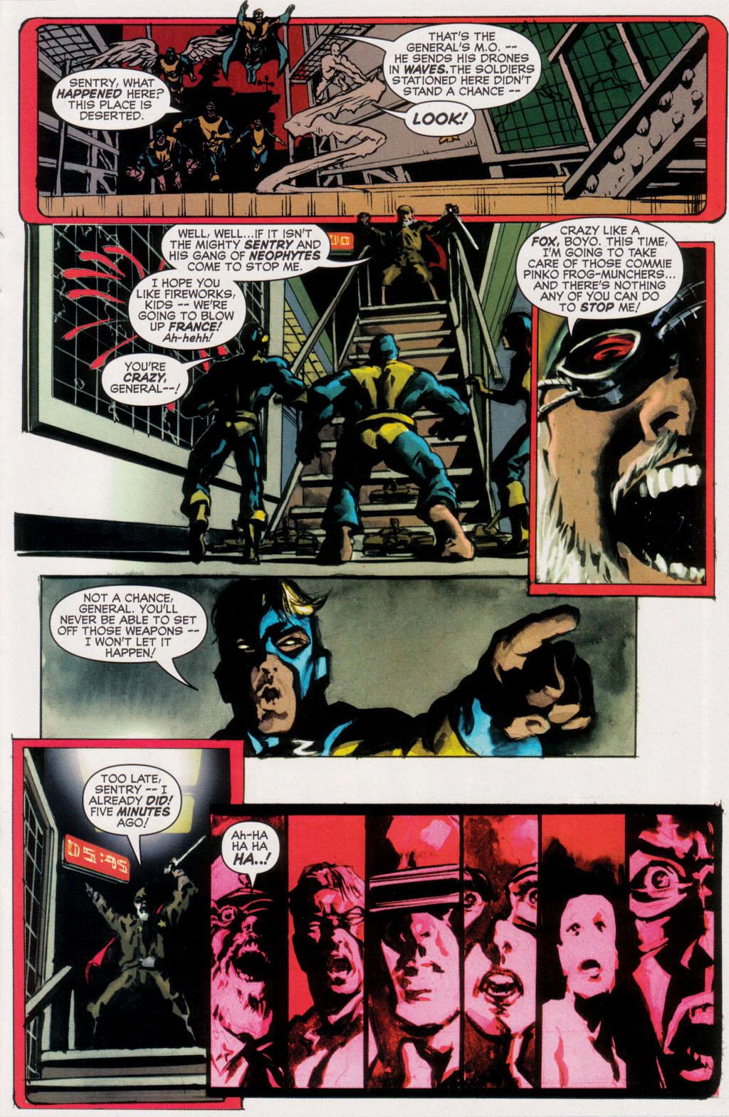 Read online Sentry/X-Men comic -  Issue # Full - 24