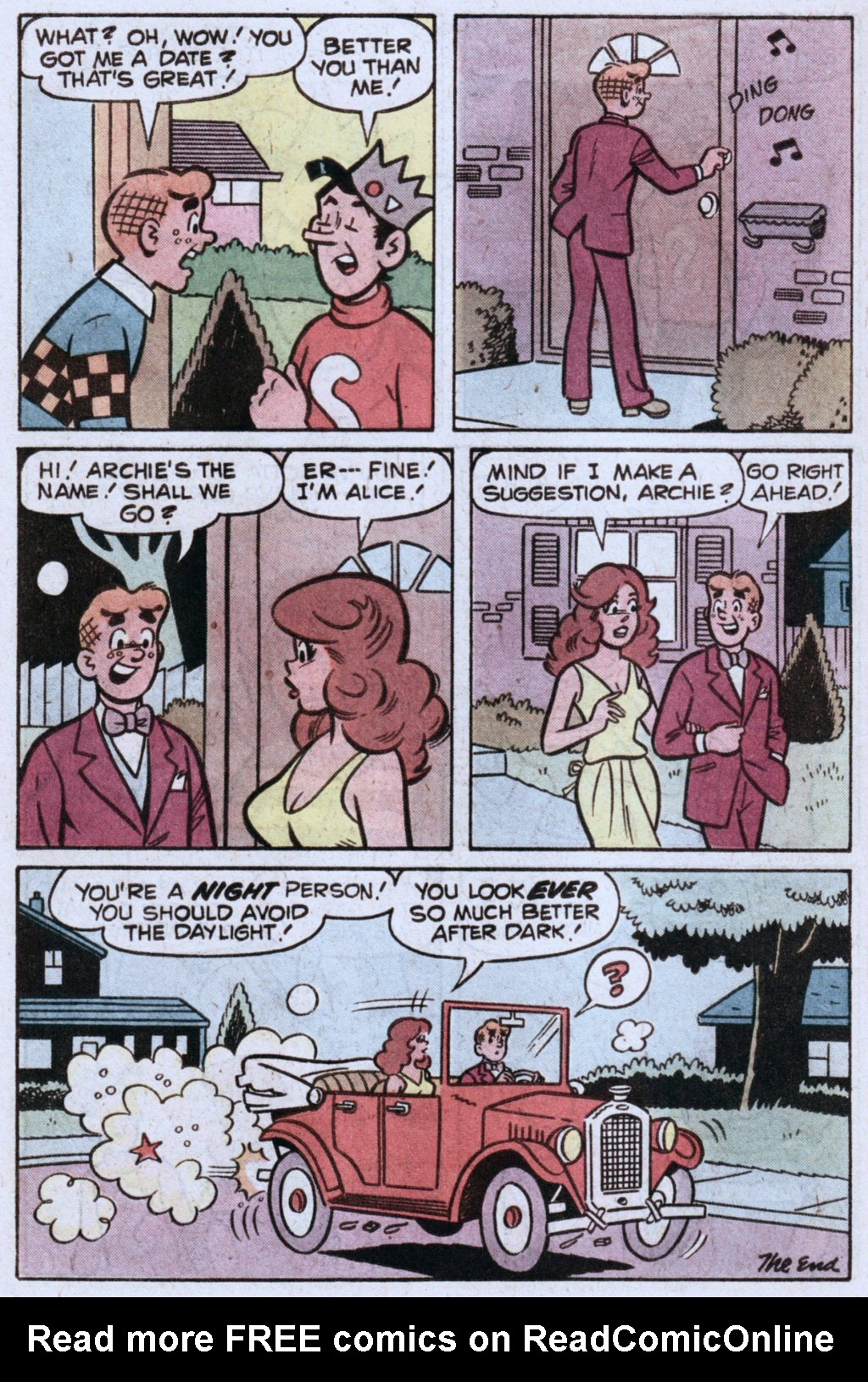 Read online Archie (1960) comic -  Issue #283 - 18