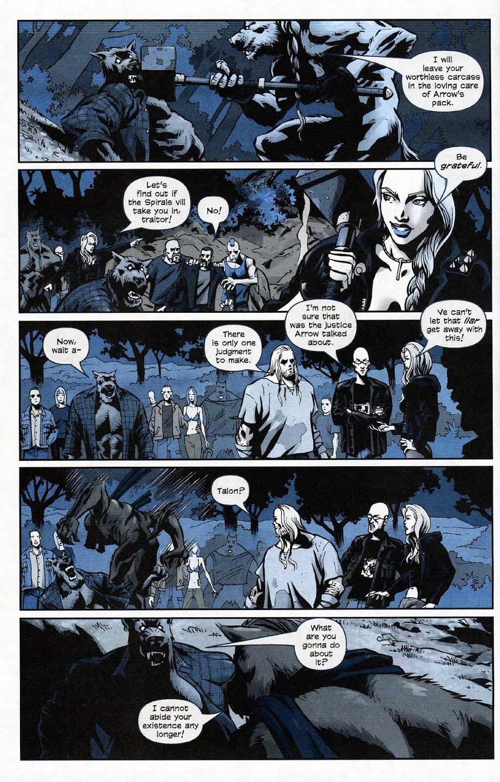 Read online Werewolf the Apocalypse comic -  Issue # Get of Fenris - 48